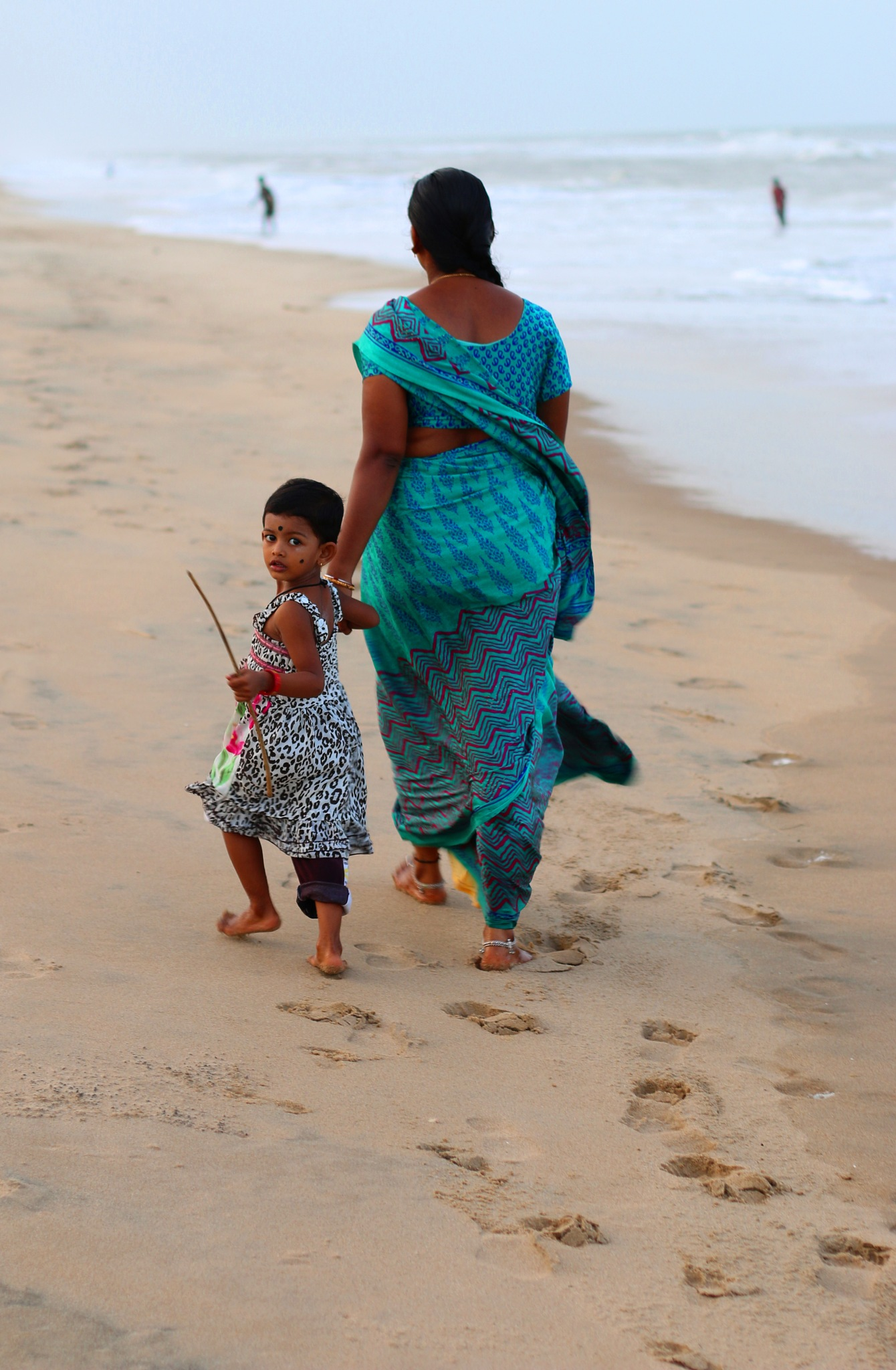 Chennai beach -India  # 4 by  Itzkovich  Joseph