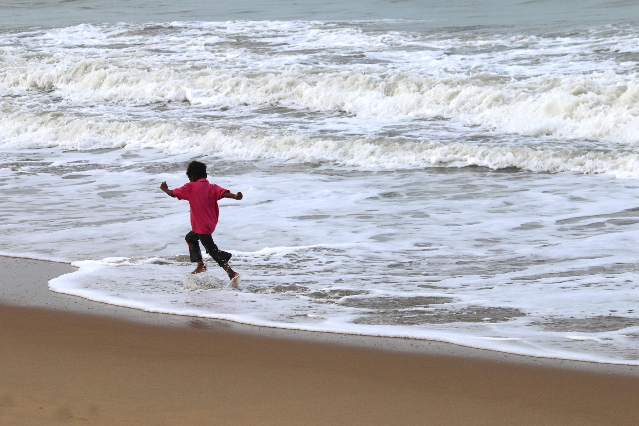 Chennai beach -India    # 1 by  Itzkovich  Joseph