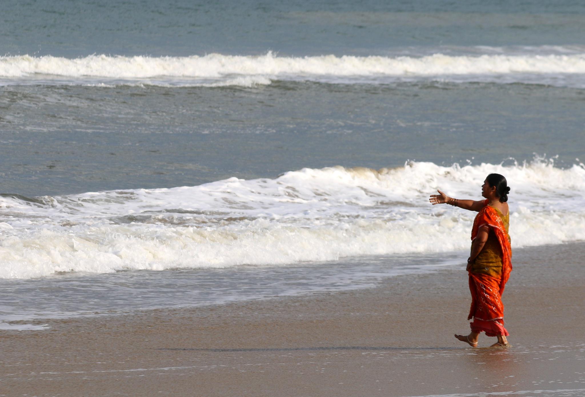 Chennai beach -India  # 6 by  Itzkovich  Joseph
