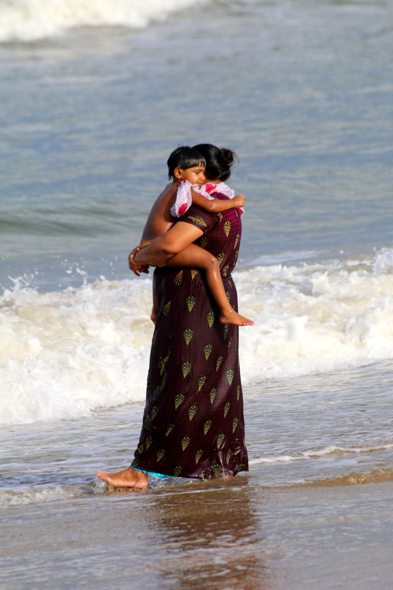 Chennai beach -India  # 8 by  Itzkovich  Joseph
