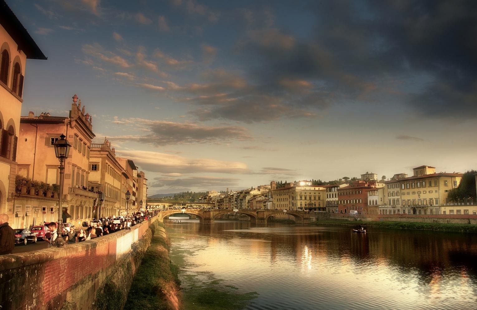 End of Afternoon in Firenze by Edu Vergara