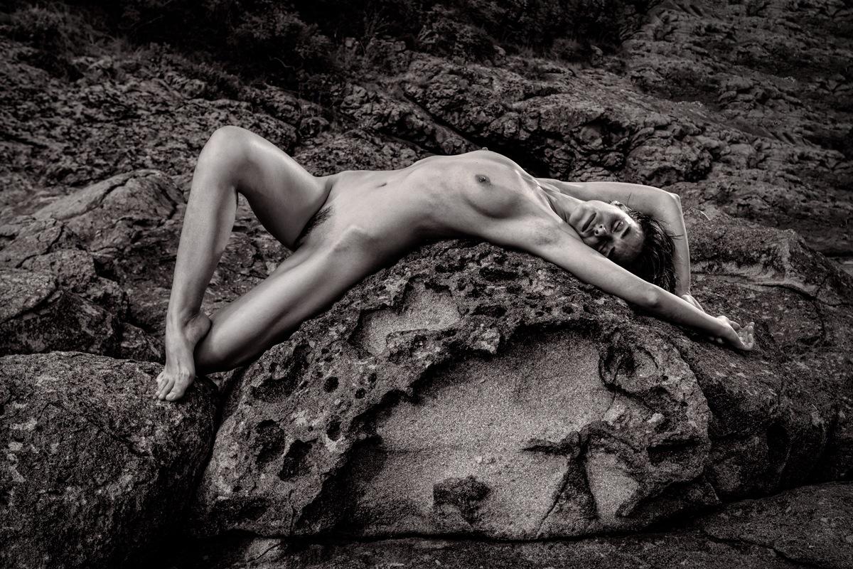 Photo in Nude #girl #beauty #nude #rocks