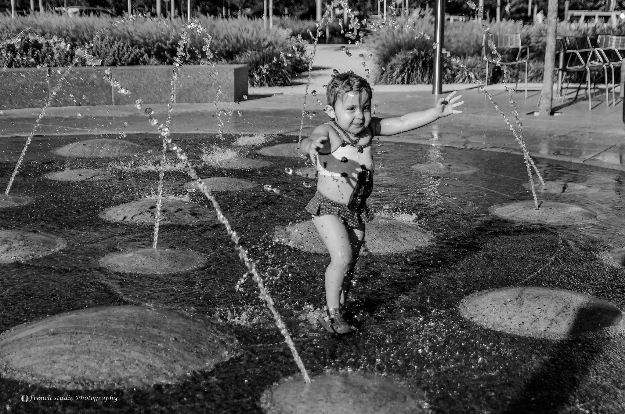 Photo in Random #water jet #girl #fun