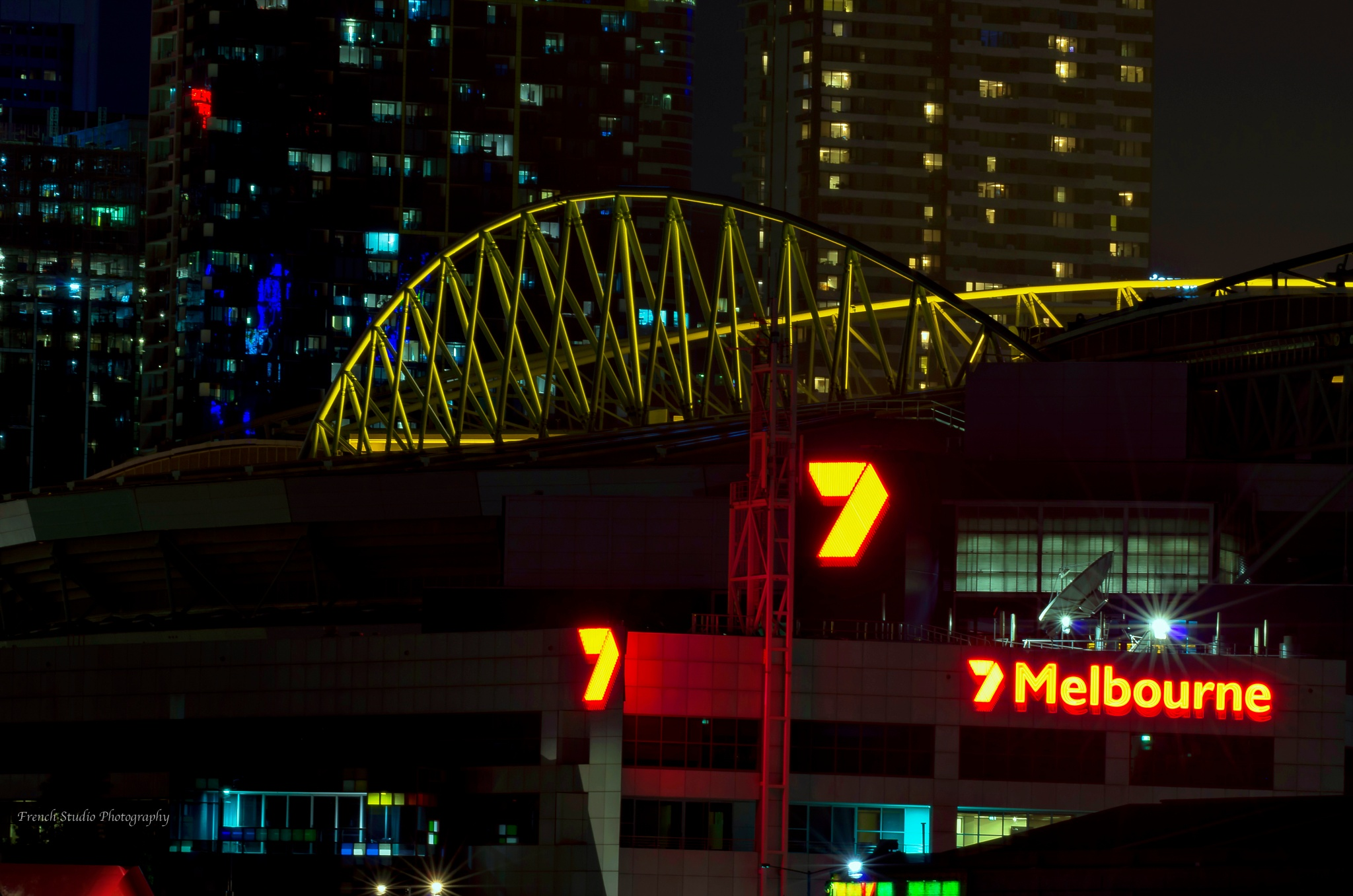 Television channel 7 Melbourne by gerardrotse
