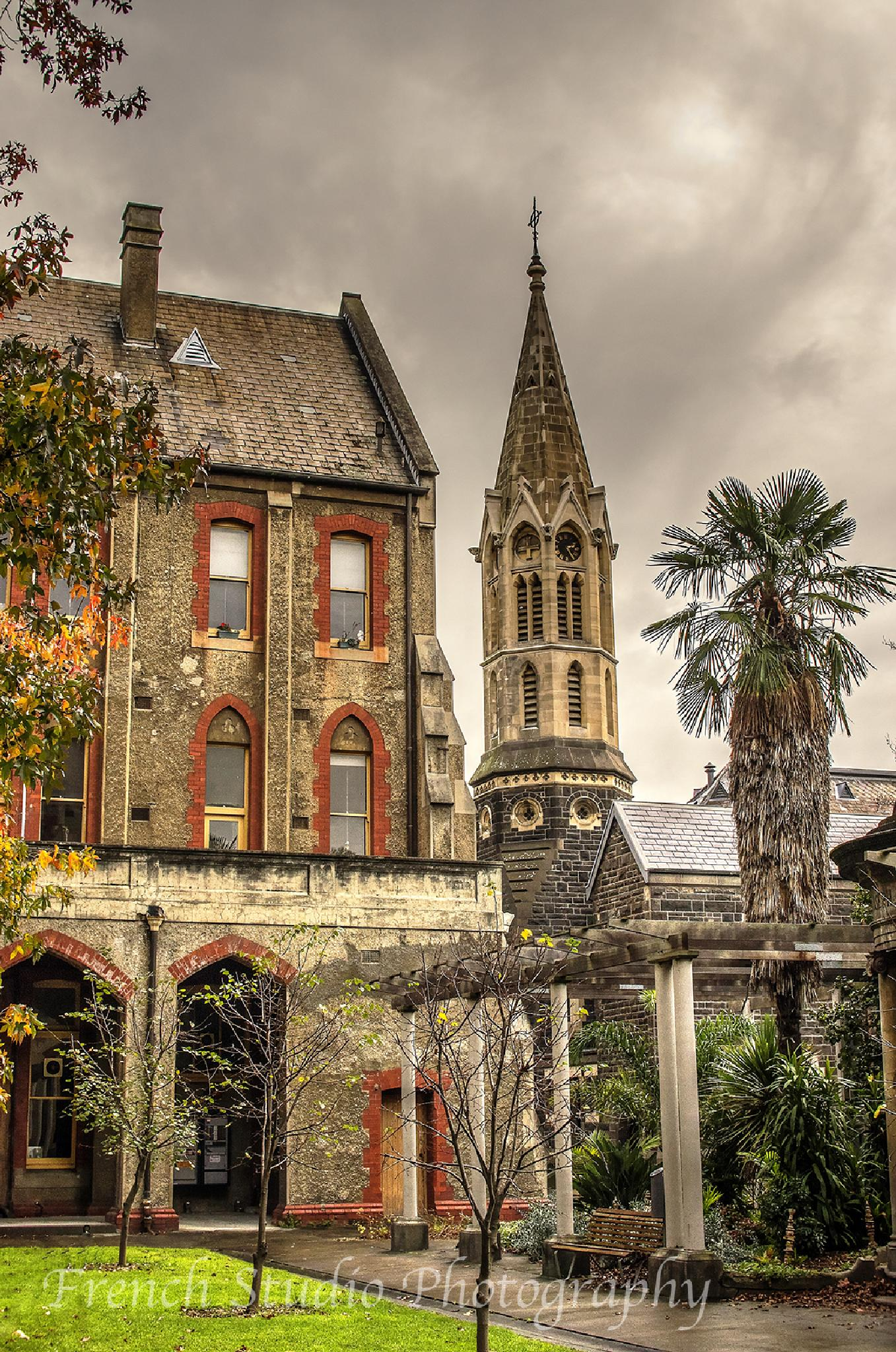 A cloudy day at the convent by gerardrotse