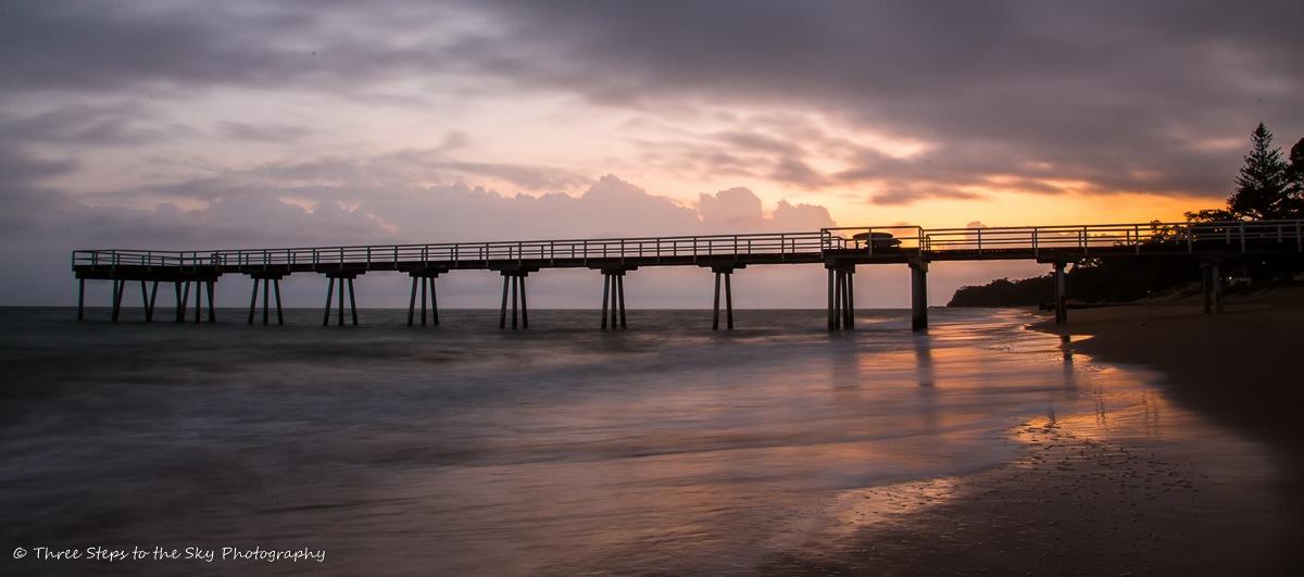 Morning Pier by Sel Kerans