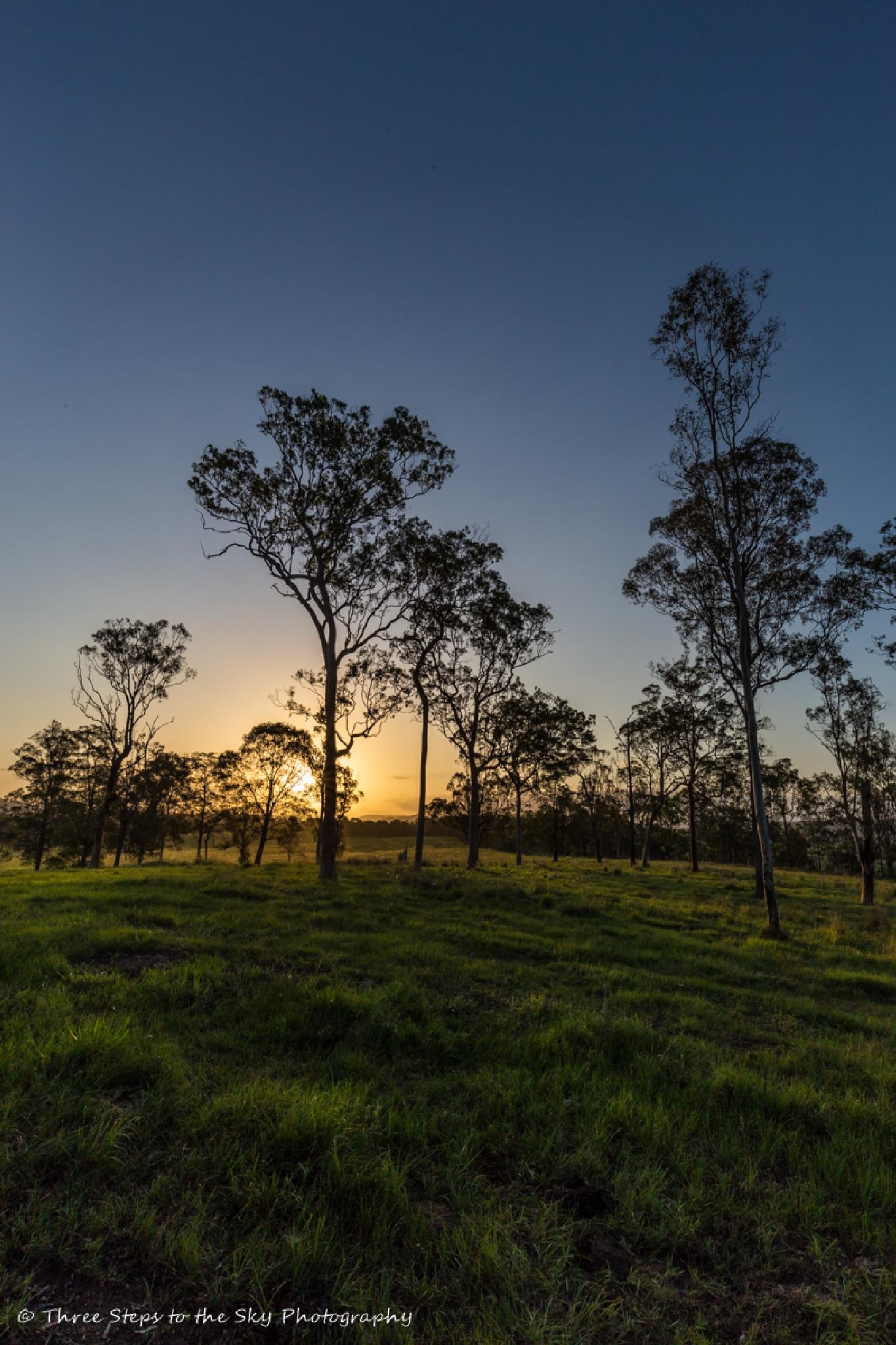 Rural Sunset 2 (Full Frame Camera) by Sel Kerans
