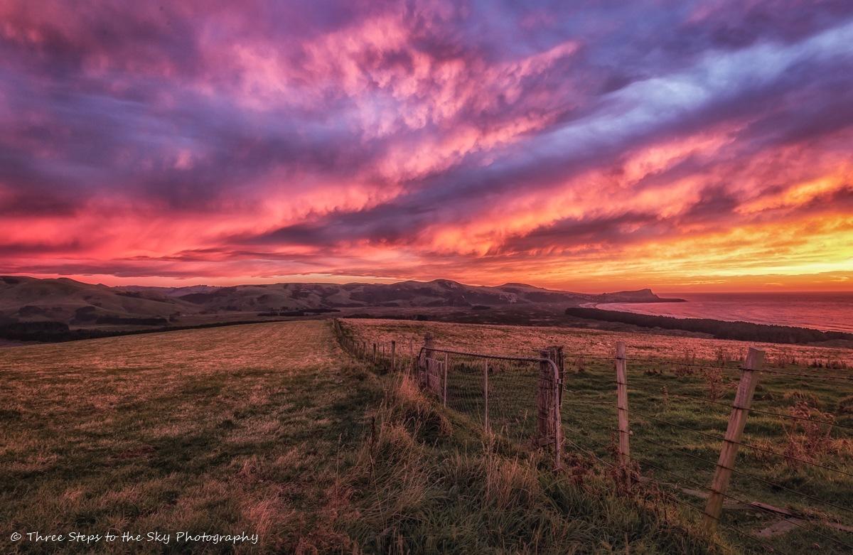 Otago Dawn Skies by Sel Kerans
