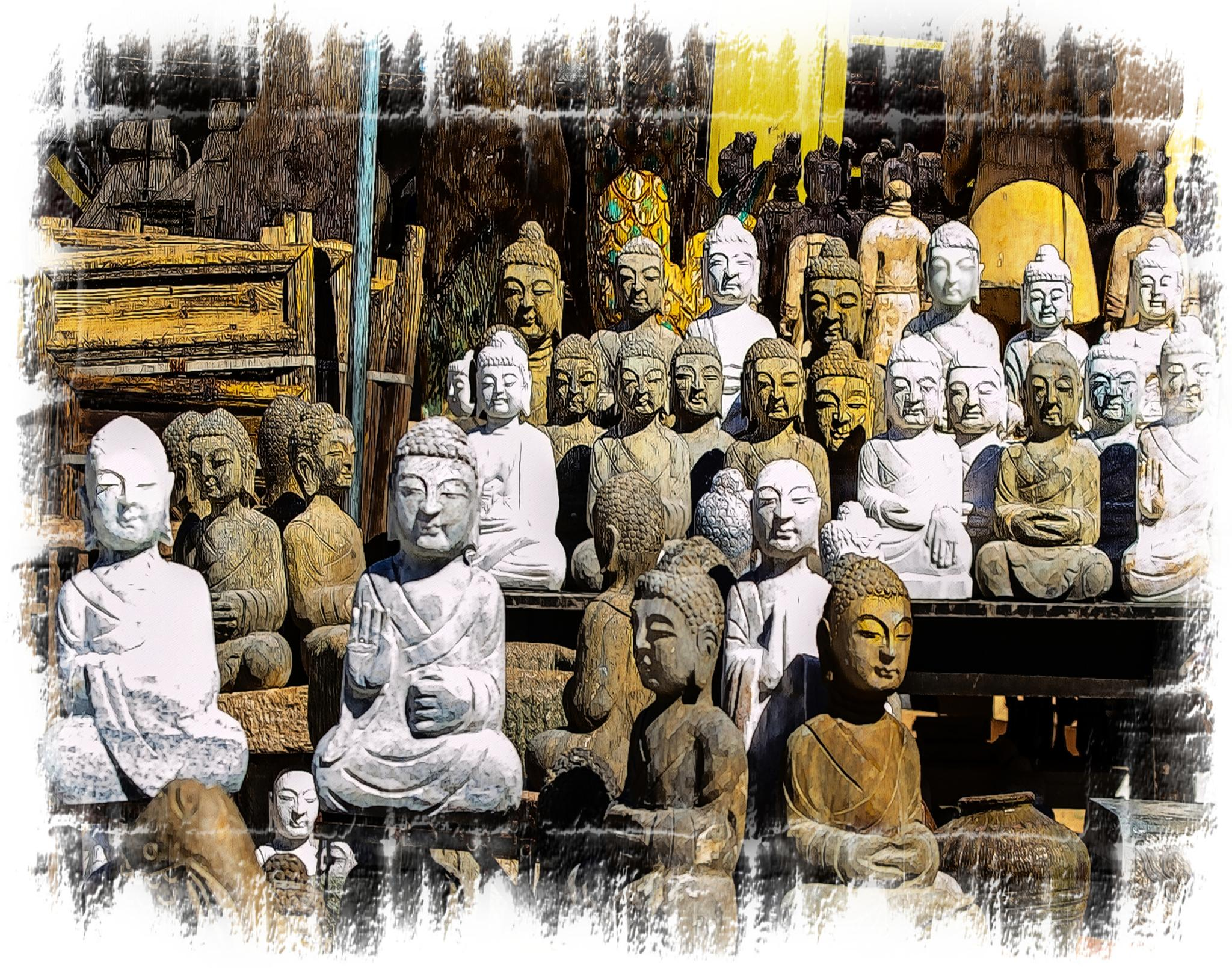 Buddha Variations  by Constantine Gregory