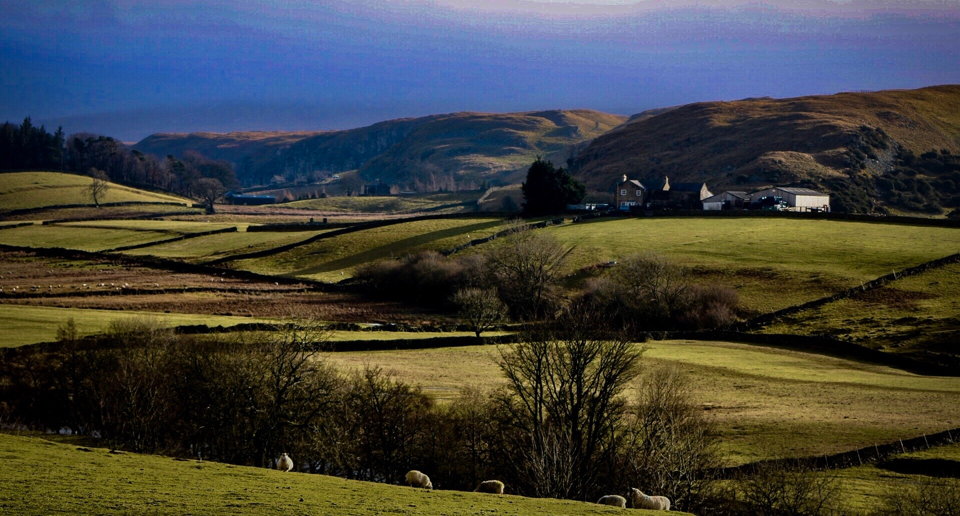 The Cumbrian Countryside by Steve Swan