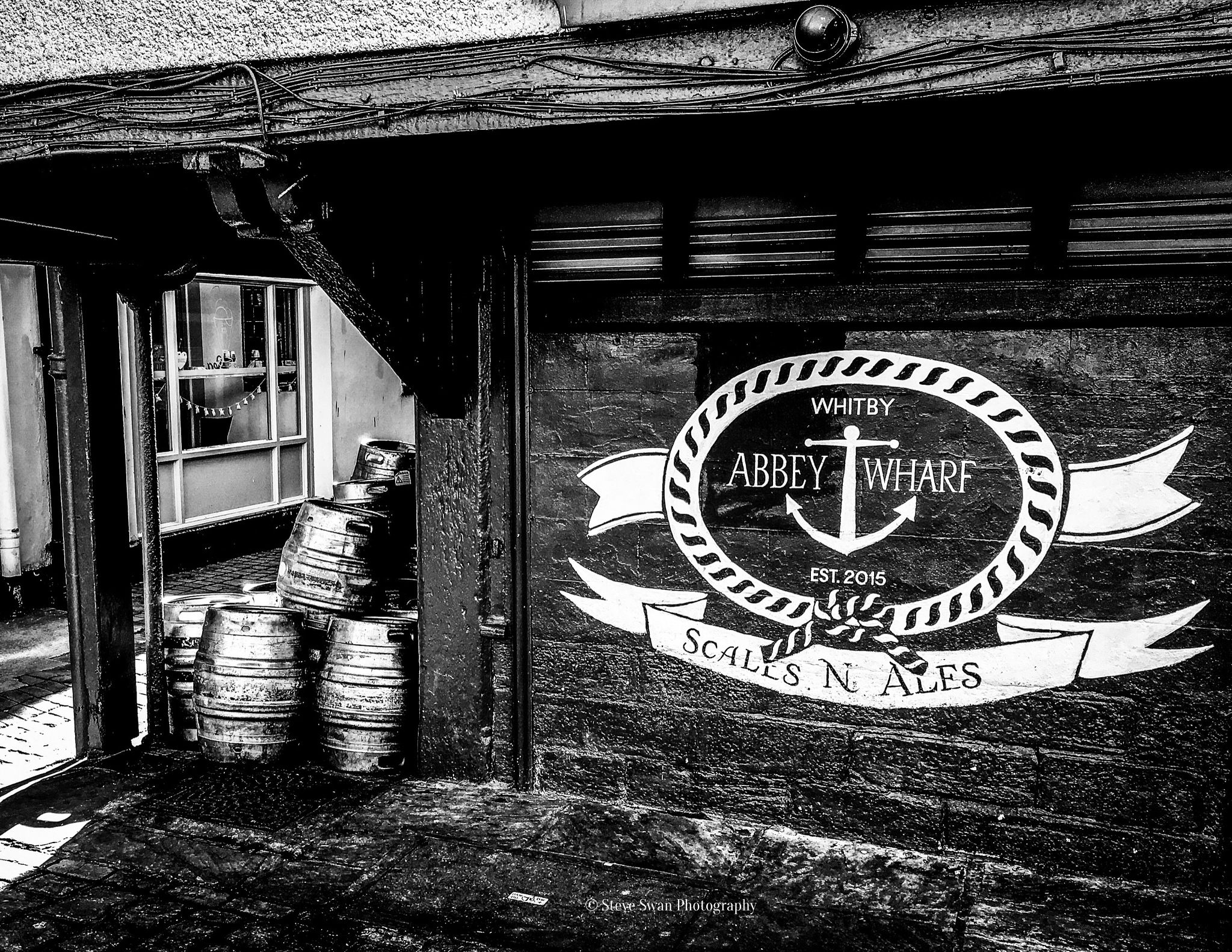 The Harbour Side Bar in Whitby  by Steve Swan