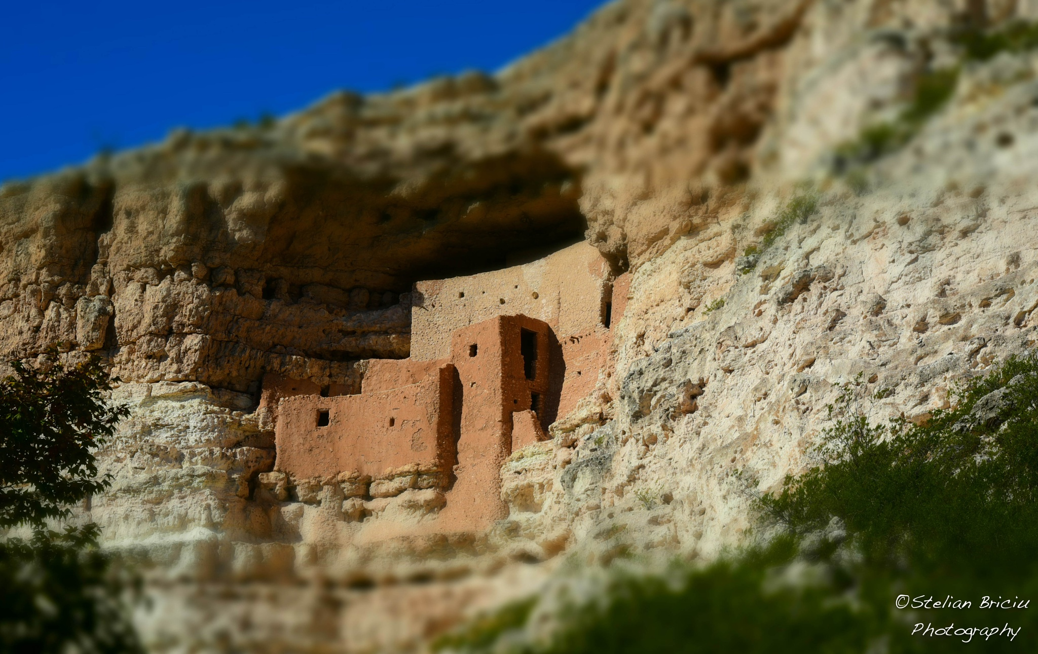Montezuma Castle by stelianbriciuphotography