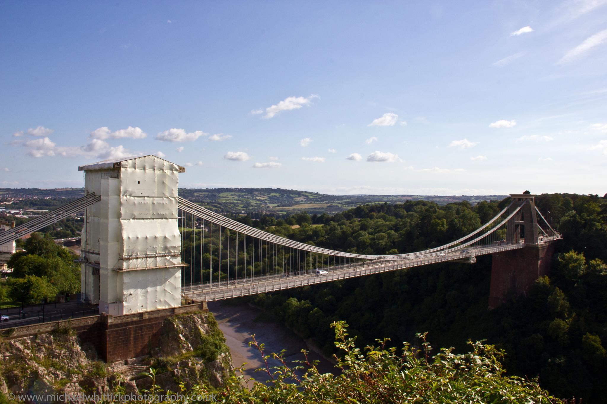 Clifton Suspension Bridge Bristol by Michael Whittick