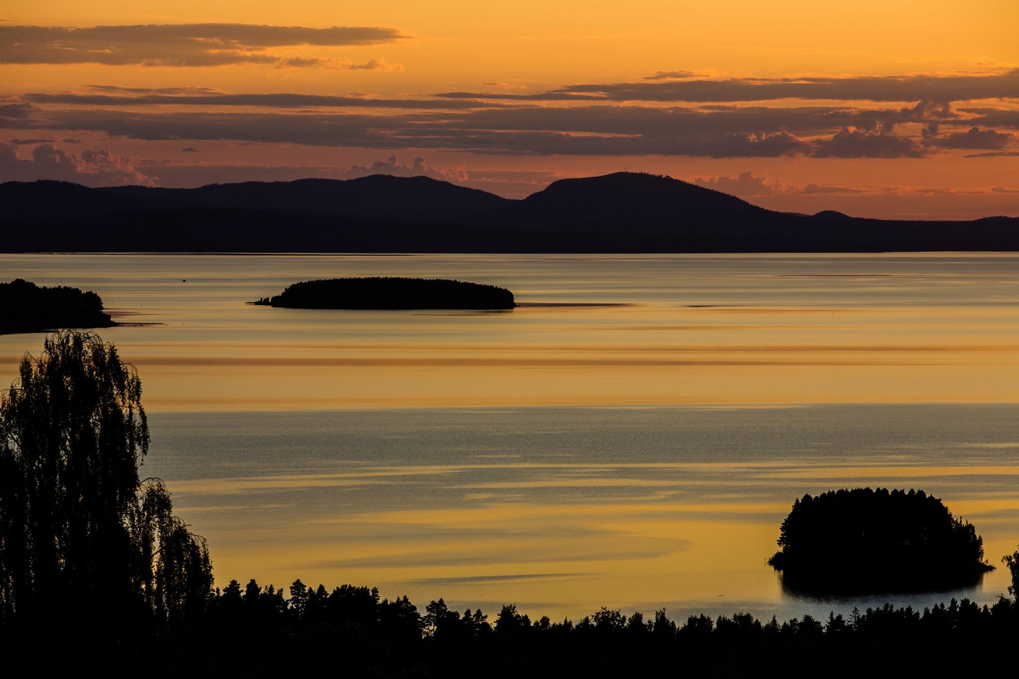 evening, Dalarna, Sweden by hutchst