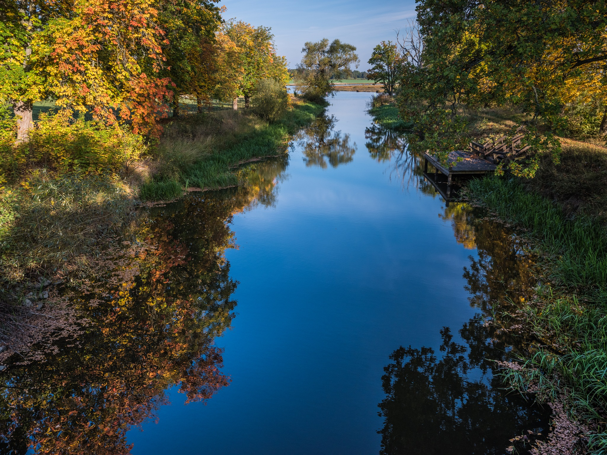 autumn reflections by hutchst