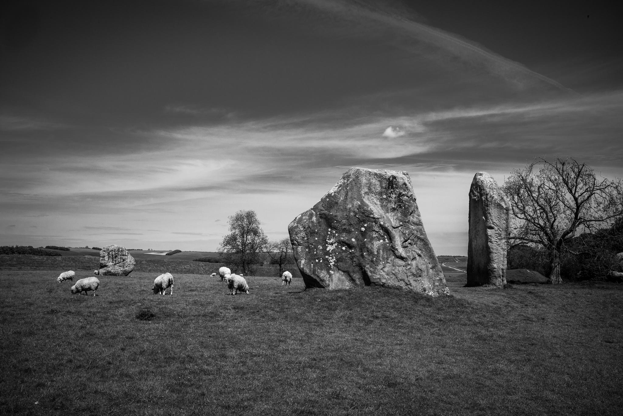 avebury stone circle 2 by hutchst
