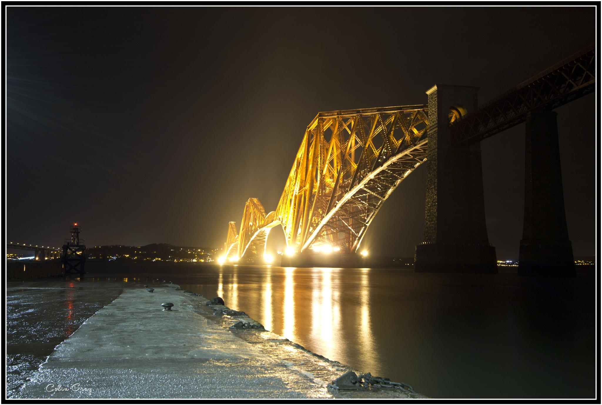 Forth Rail Bridge by Colin