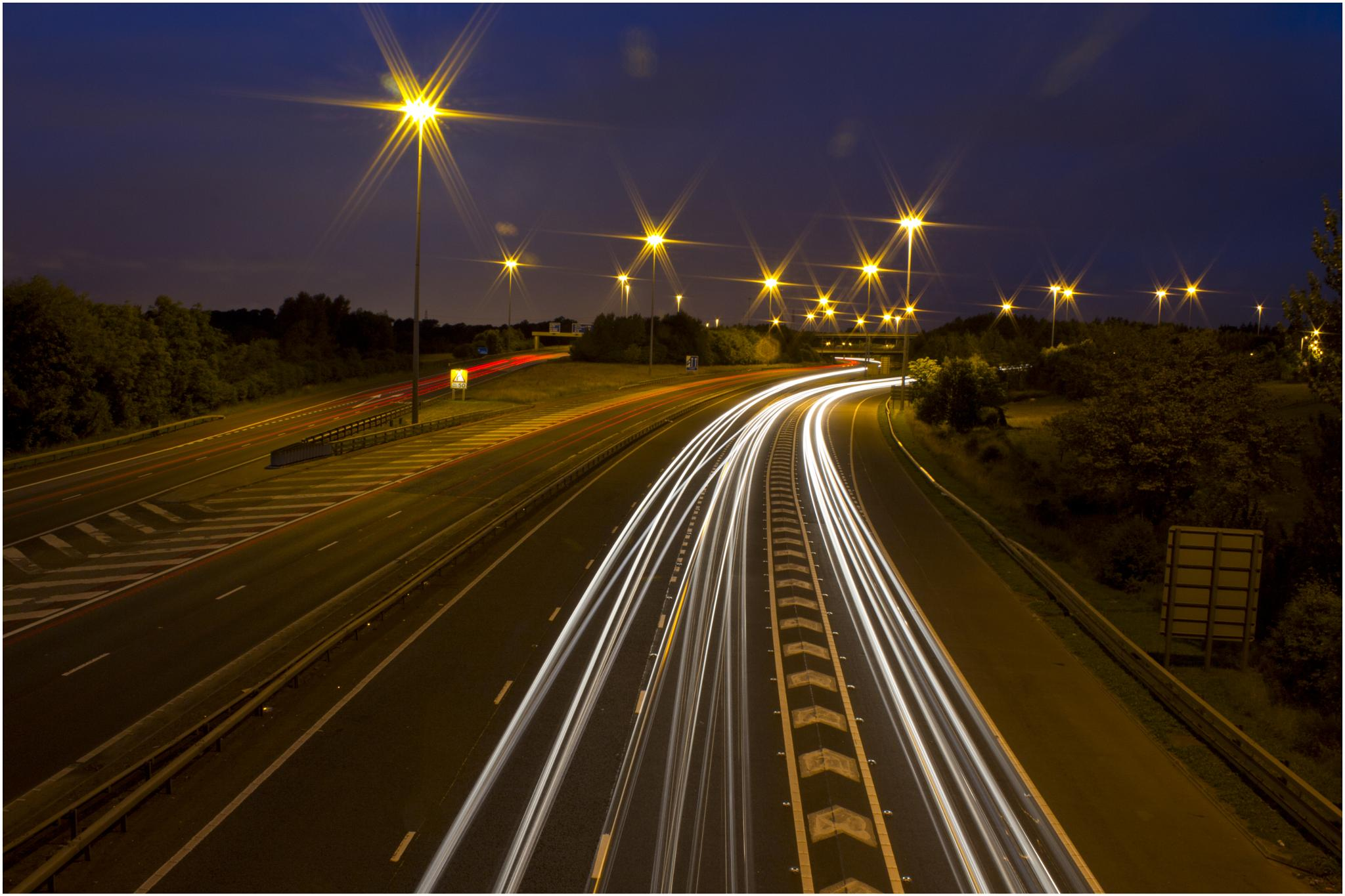 Light Trails by Colin