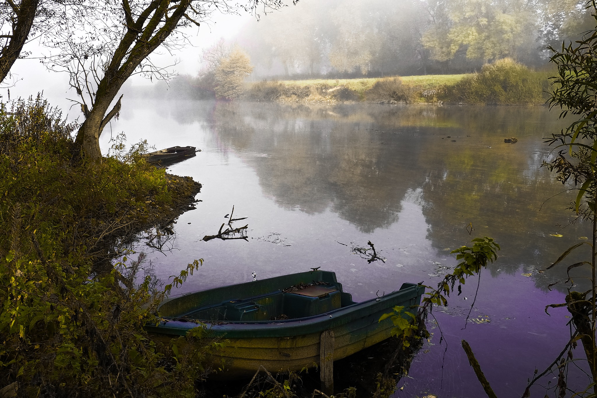 the river Doubs by alain michel