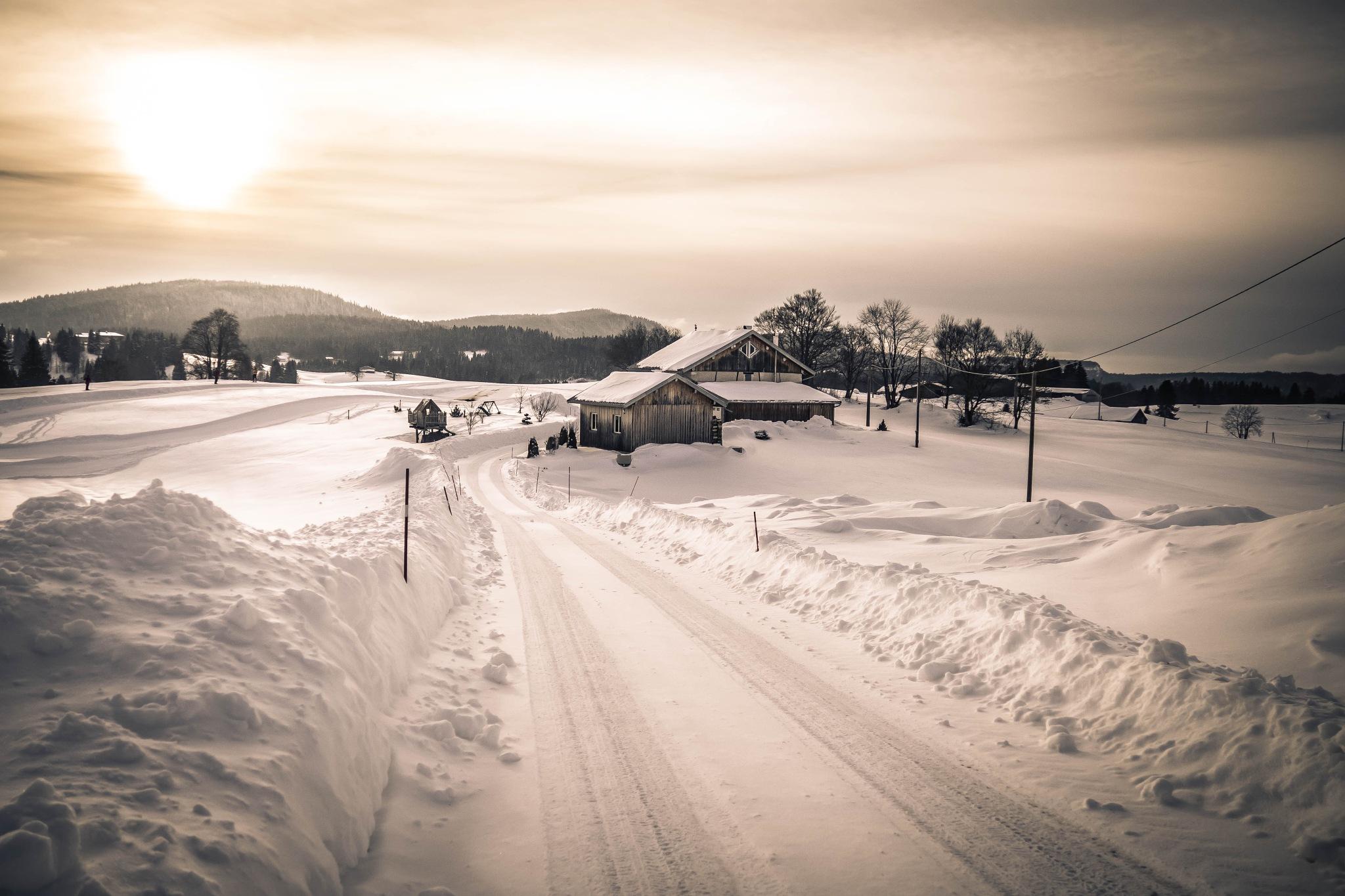 Photo in Random #winter #snow #mountain #snowy