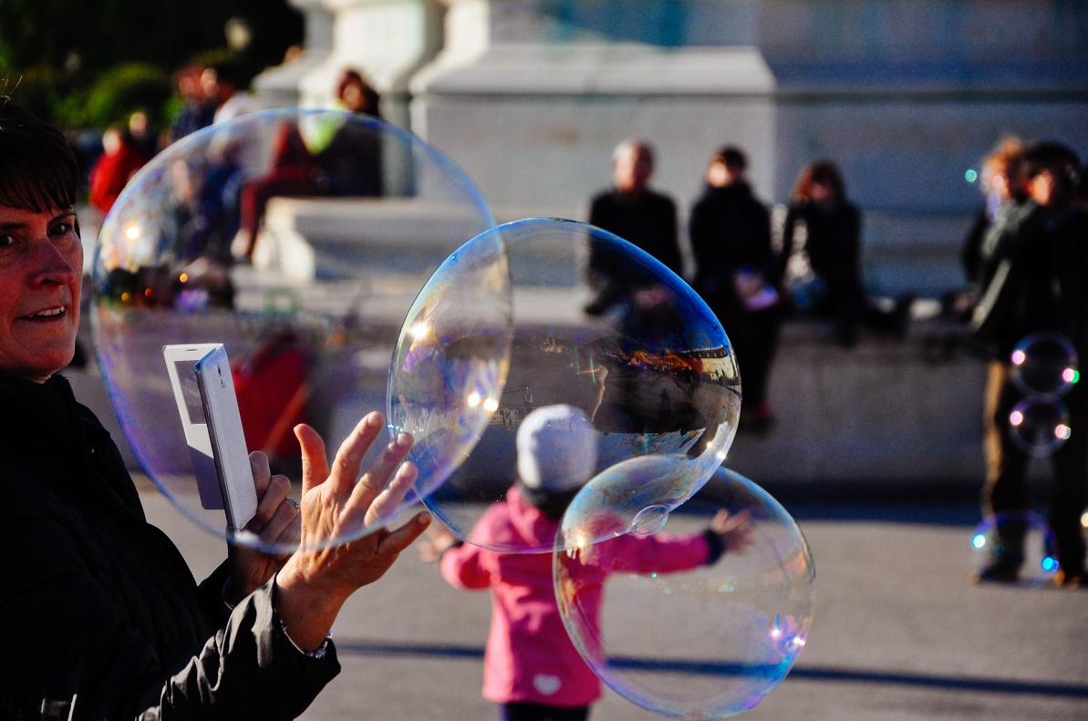 Feeling bubbly by Paul Bielicky