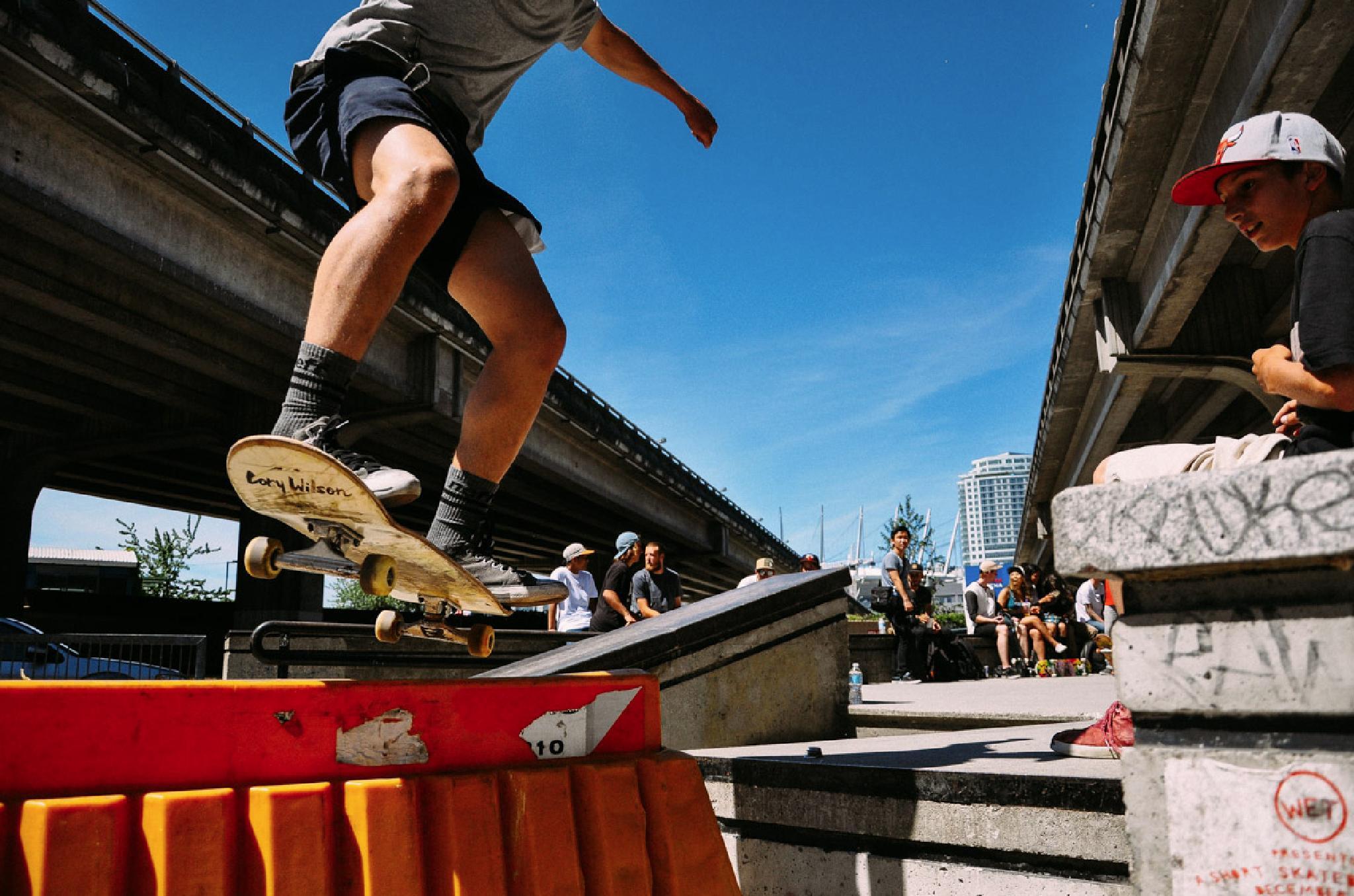 Let's backside boardslide by Paul Bielicky