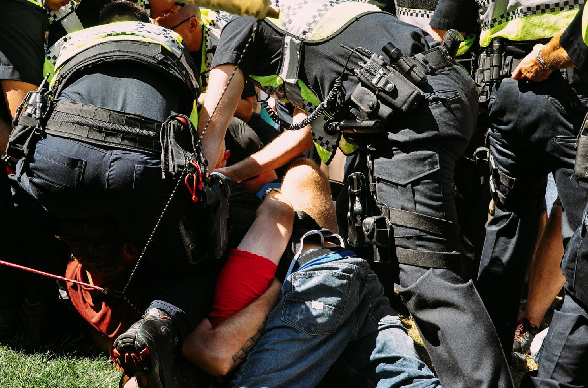 Tangled brawl by Paul Bielicky