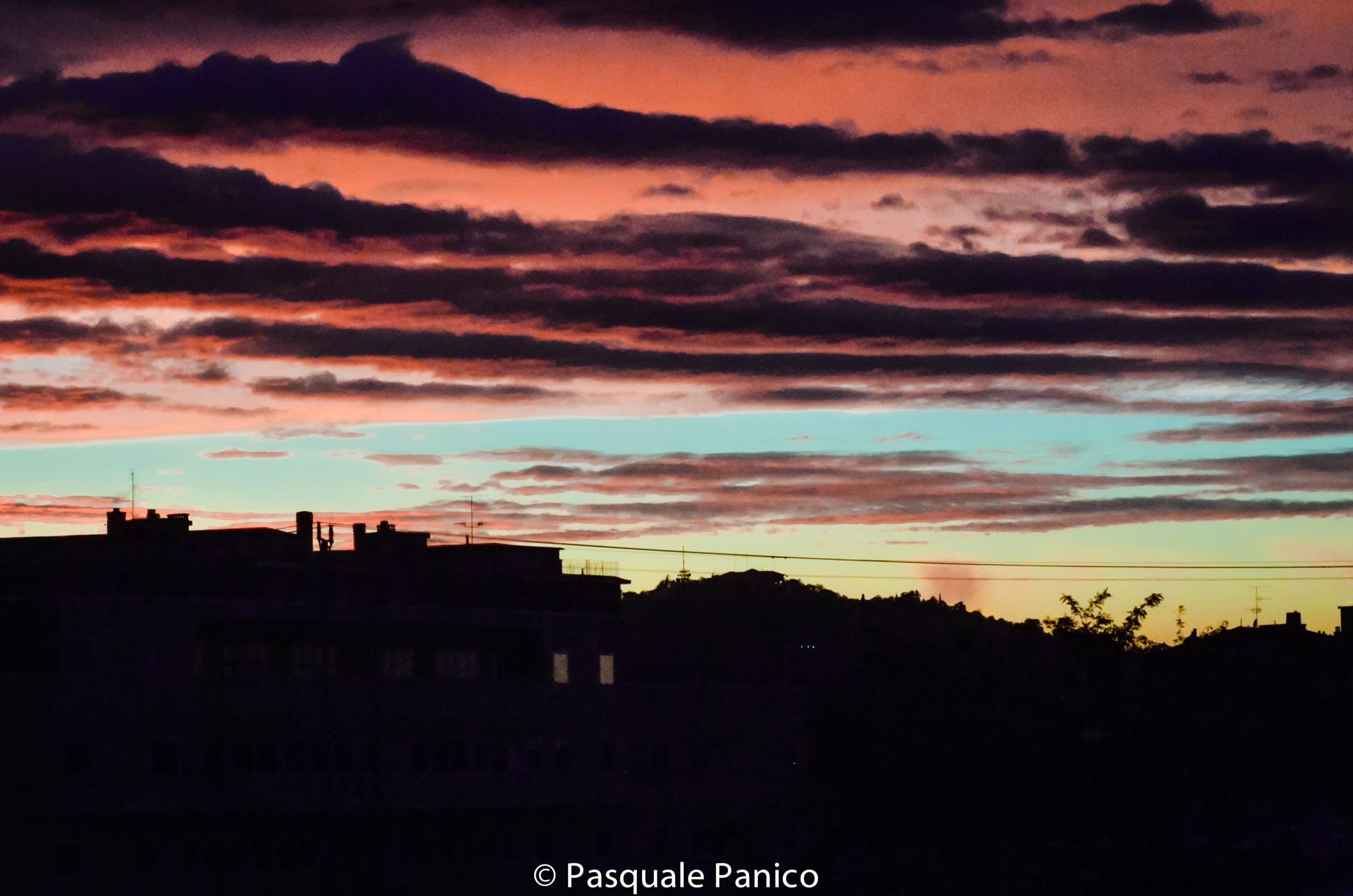 art of sunset by Pasquale Panico