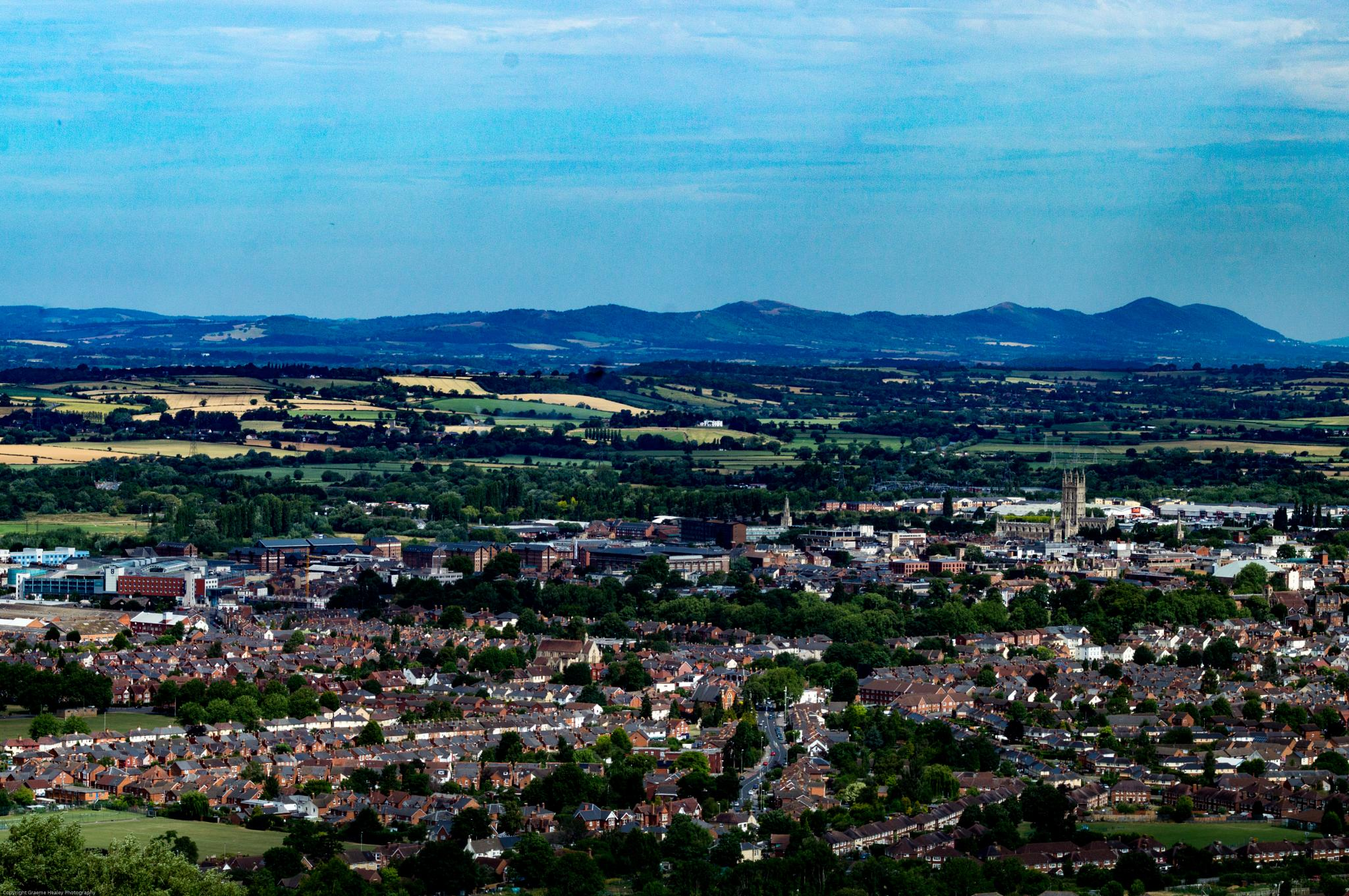 Gloucester Towards The Malverns by Graeme Healey Photography