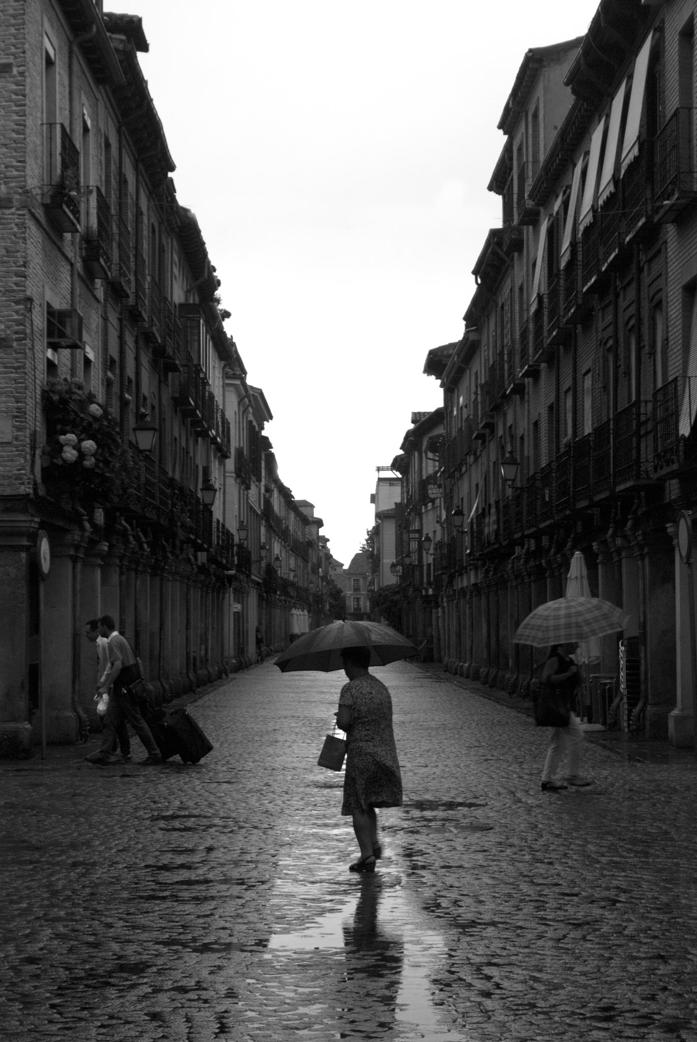 La calle mojada (2) by juliandelnogal