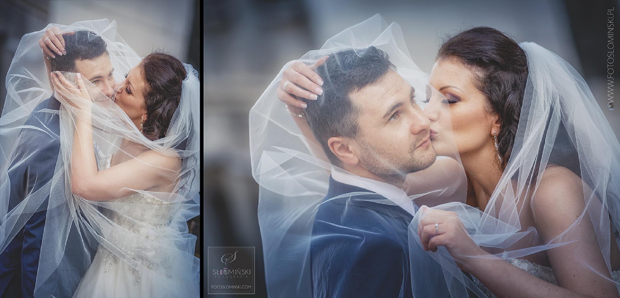 Romantyczna sesja ślubna w Pradze. Wedding in Prague. by Fotograf Slominski