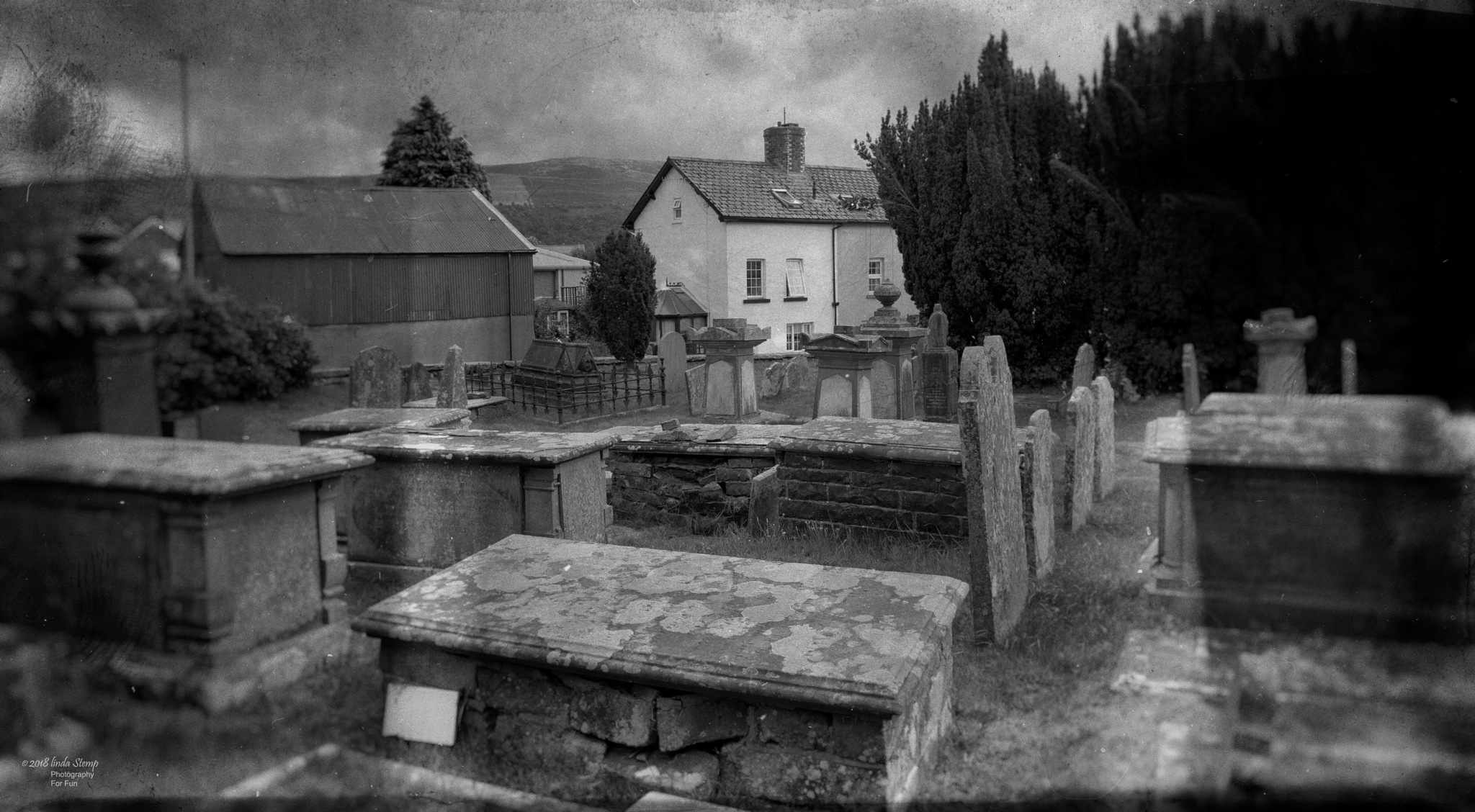 St Clement's church yard - Rhayader by lindans