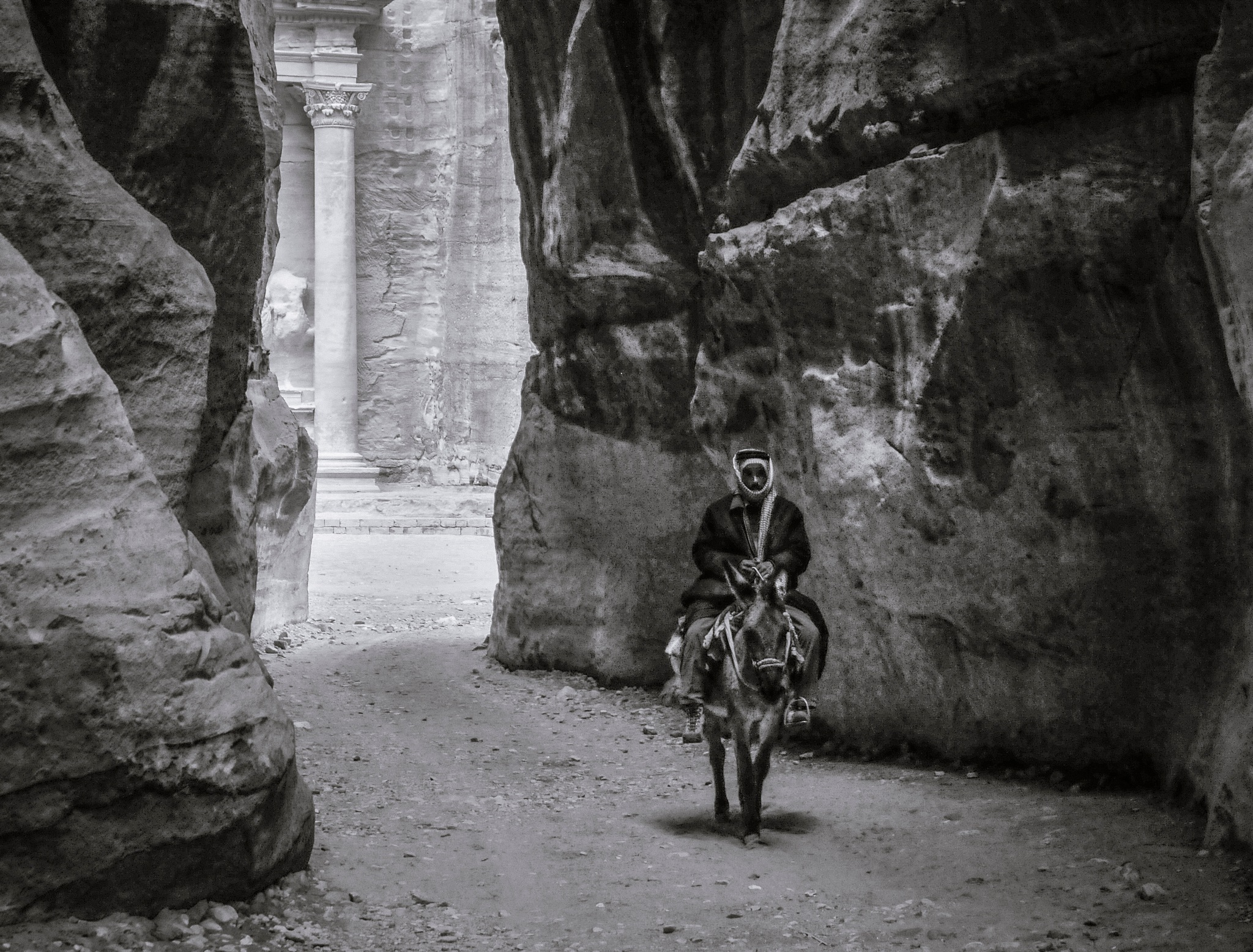 """Donkey Driver"", Petra, Jordan by hbenkel"