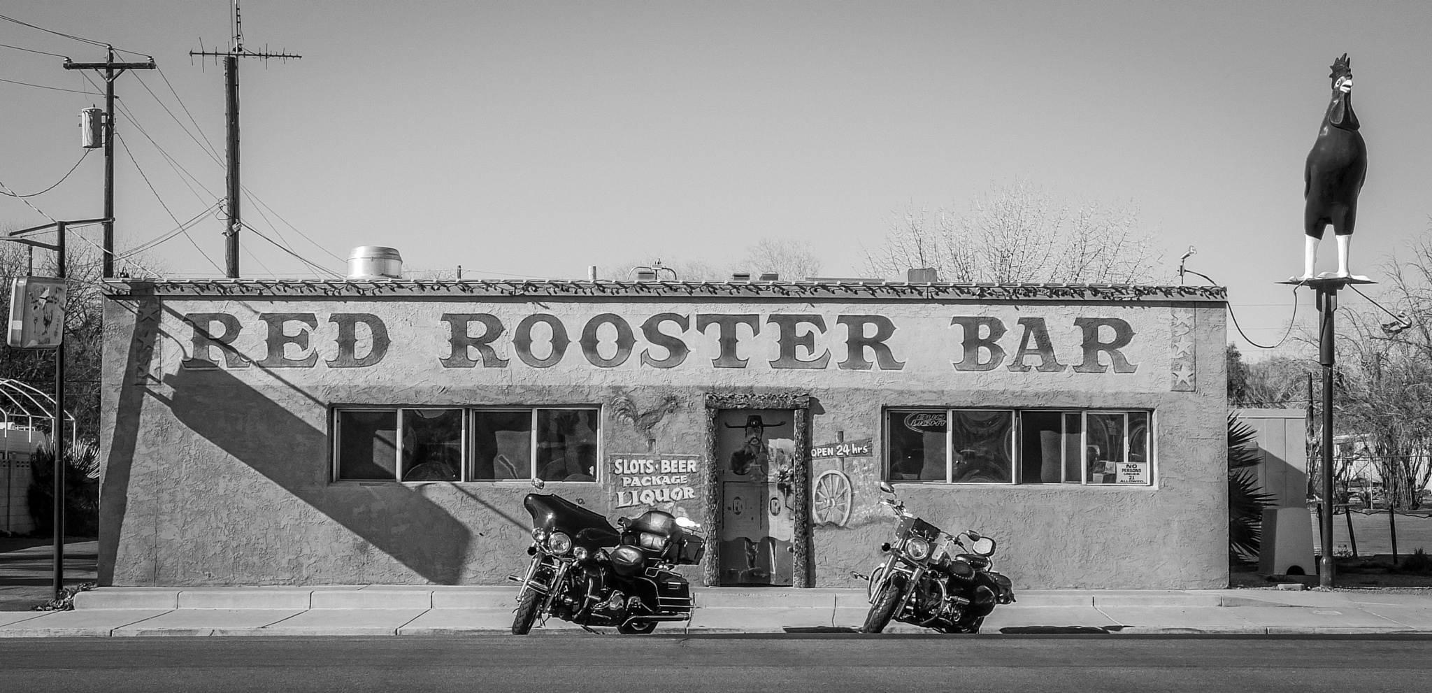 """""""Red Rooster Bar"""", Overton, Nevada 2012 by hbenkel"""