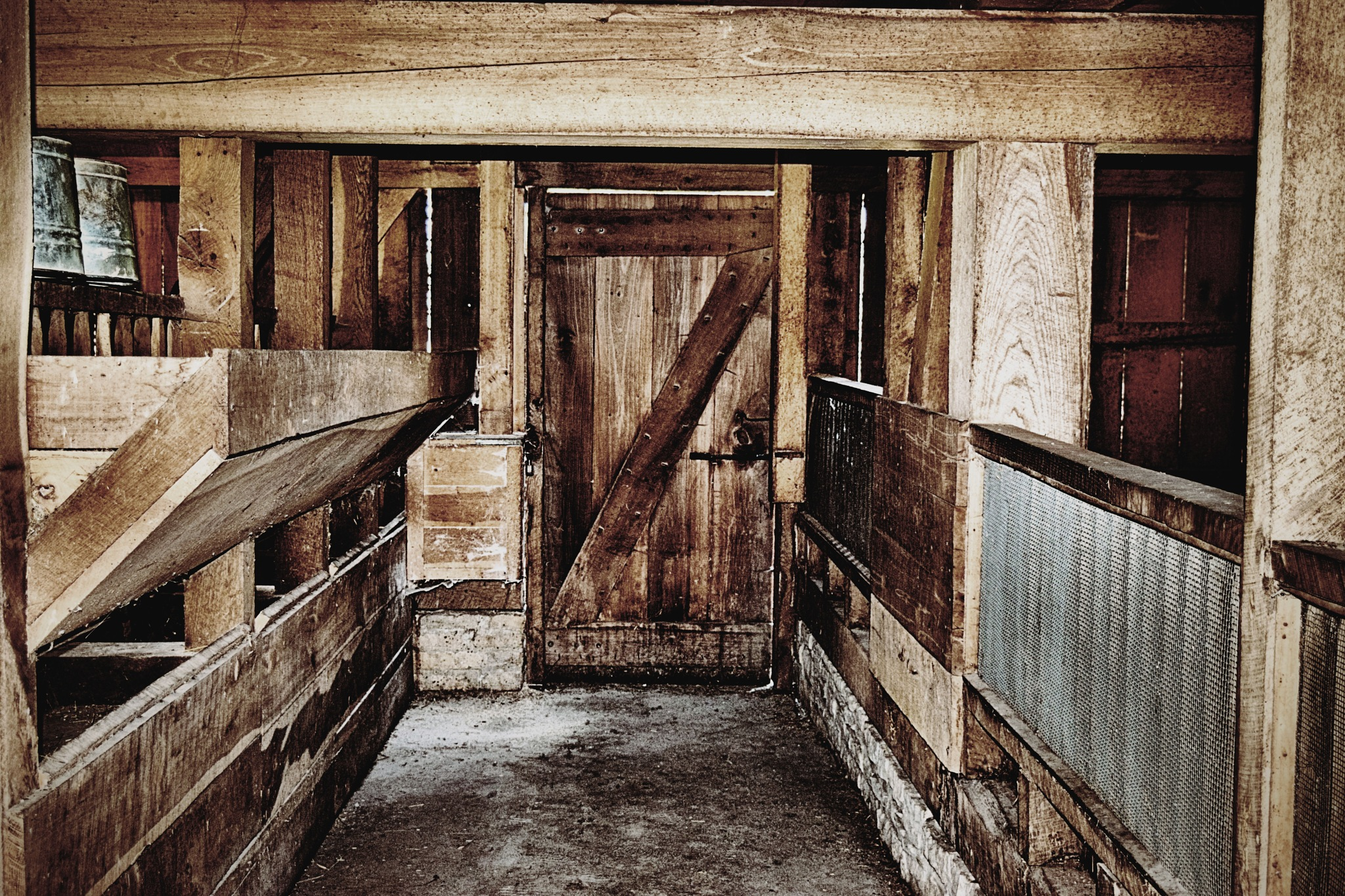 The barn by Sandy L