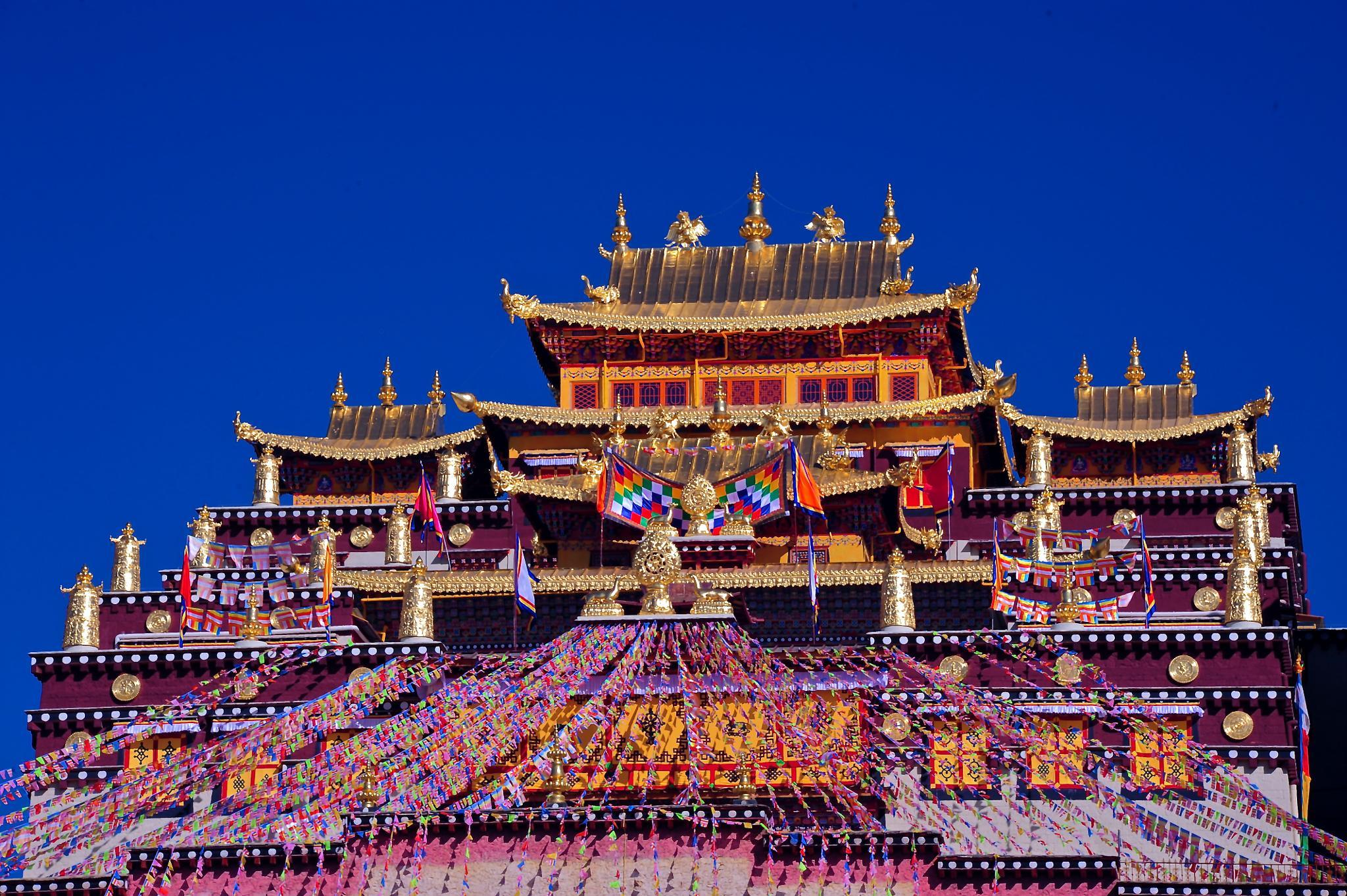 Songzanlin Monastery - Shangri-La, China by Maikeru.C