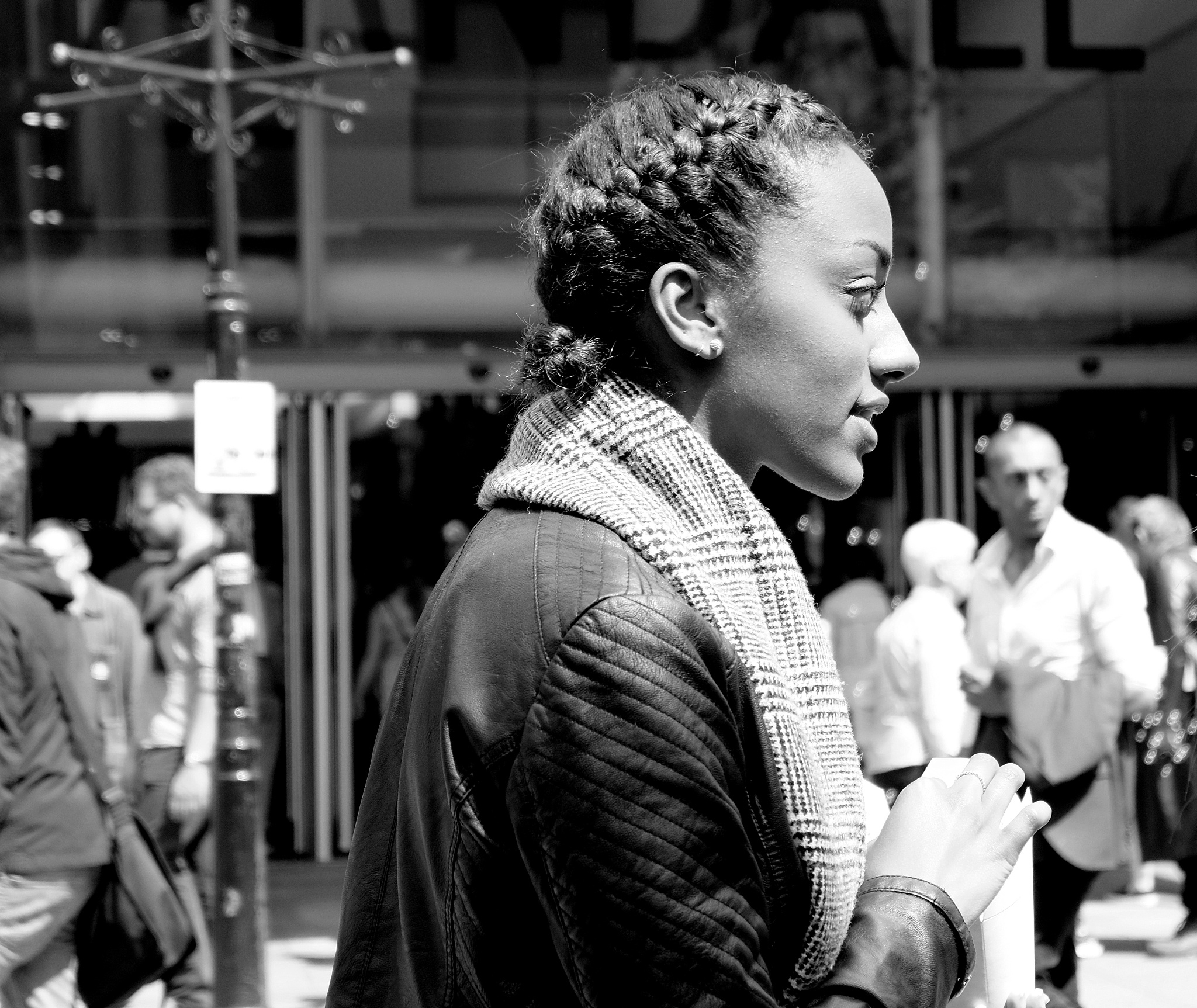 Photo in Street Photography #people #black and white #random