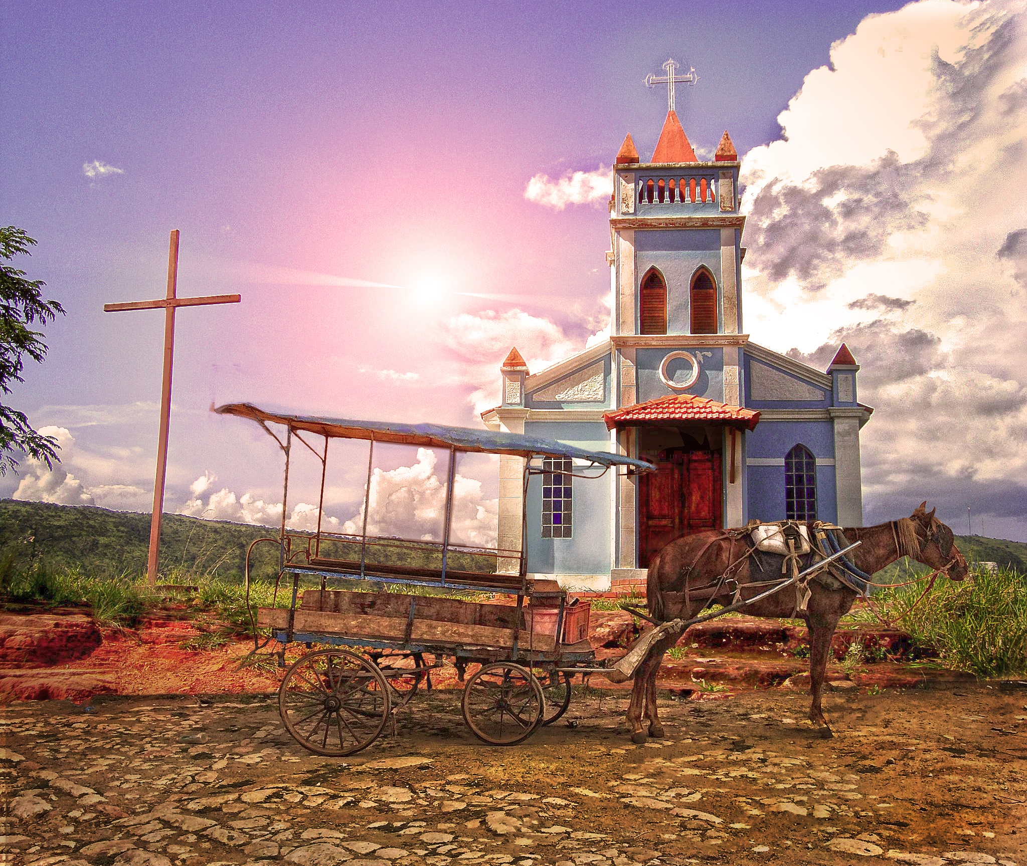 Church in Ibiraci by Mauricio DC