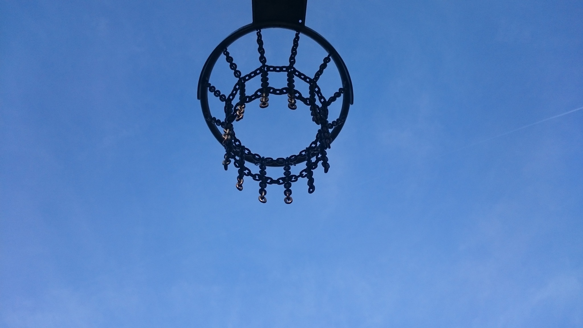 blue sky by Mohammed ALkarawi