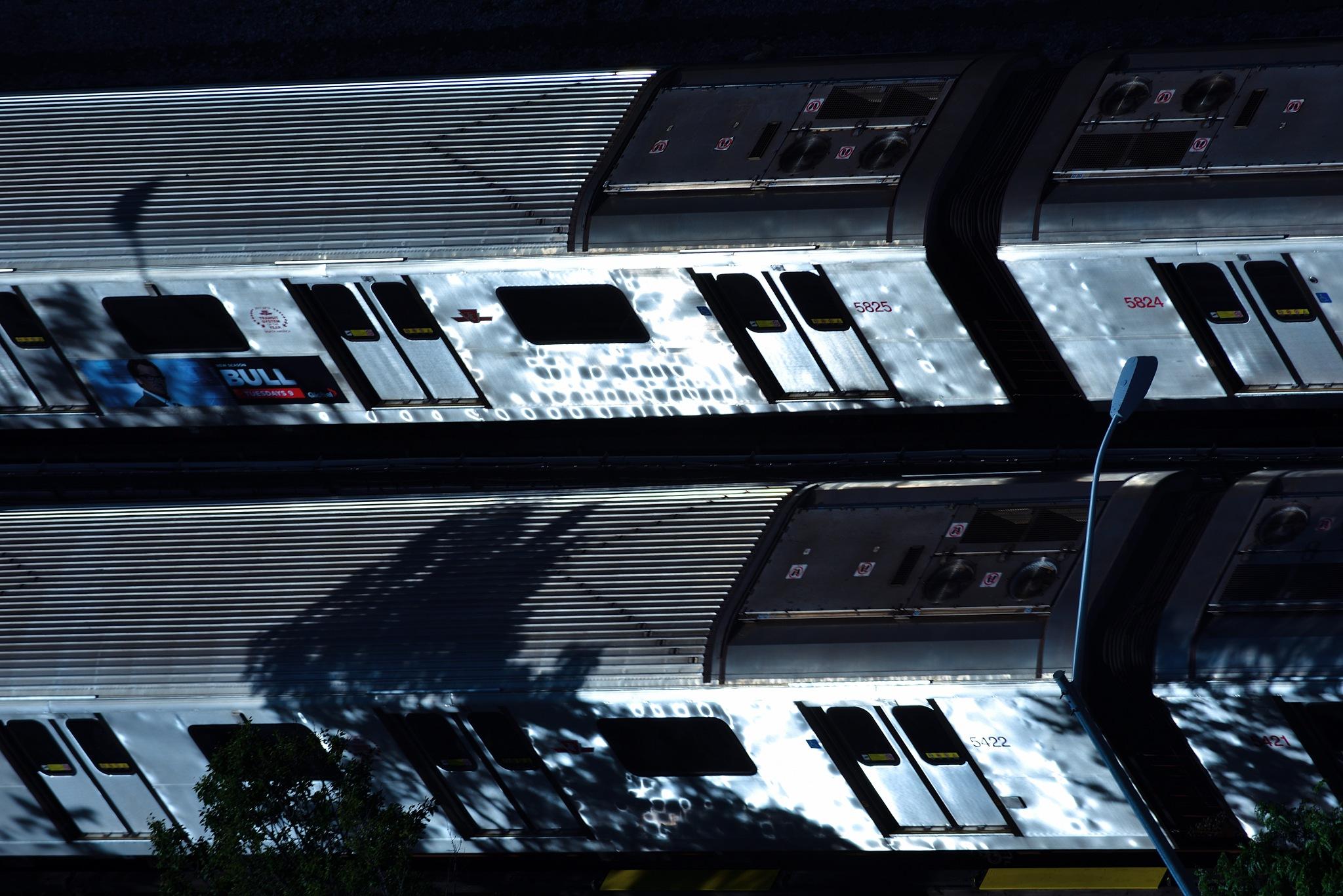 daylight subway by Y. Takei