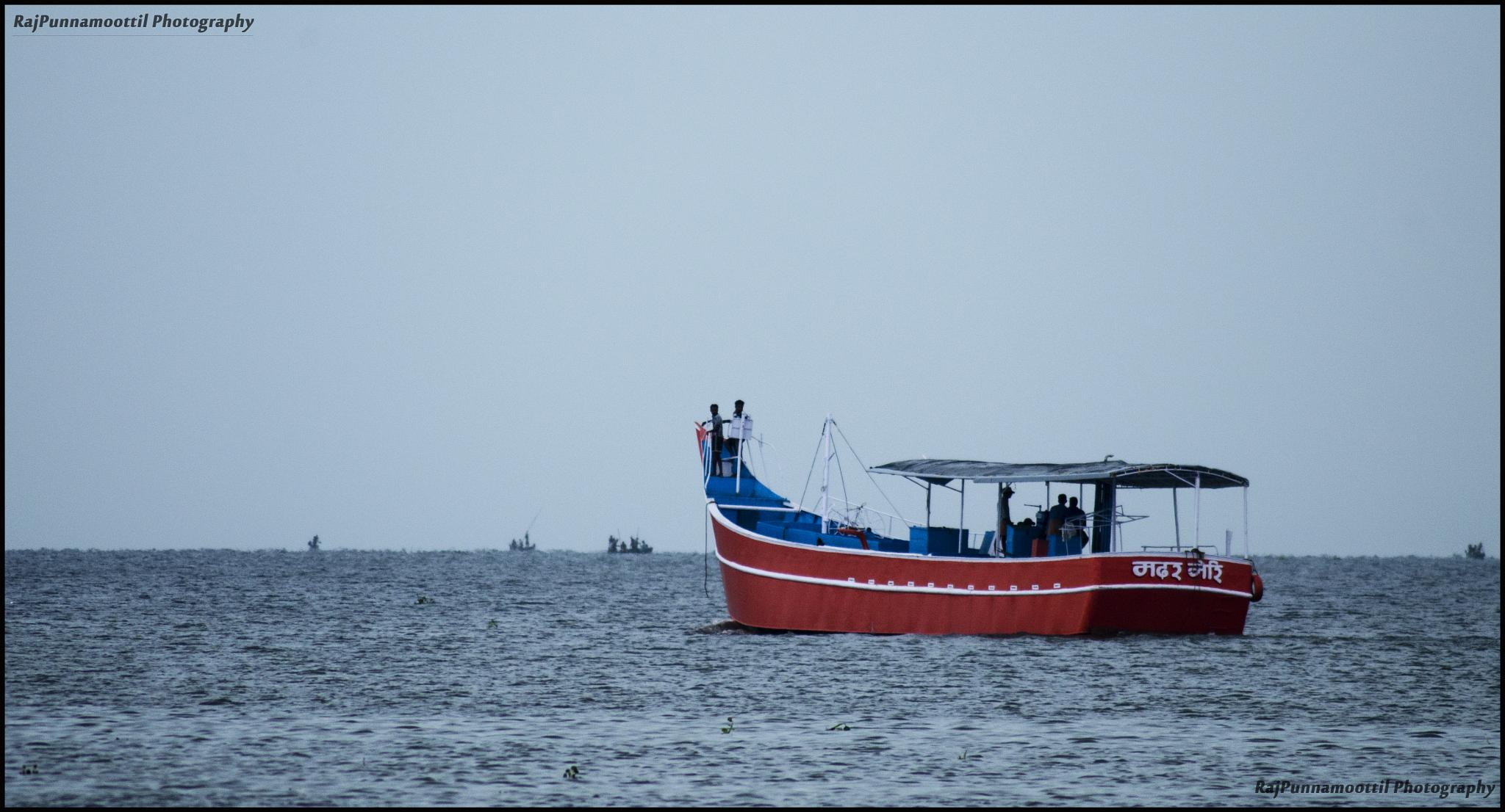 Photo in Random #journey #boat #lake
