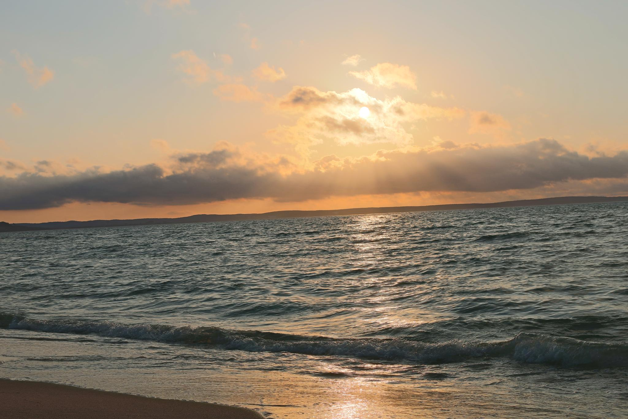 sun set  by Donald Michael