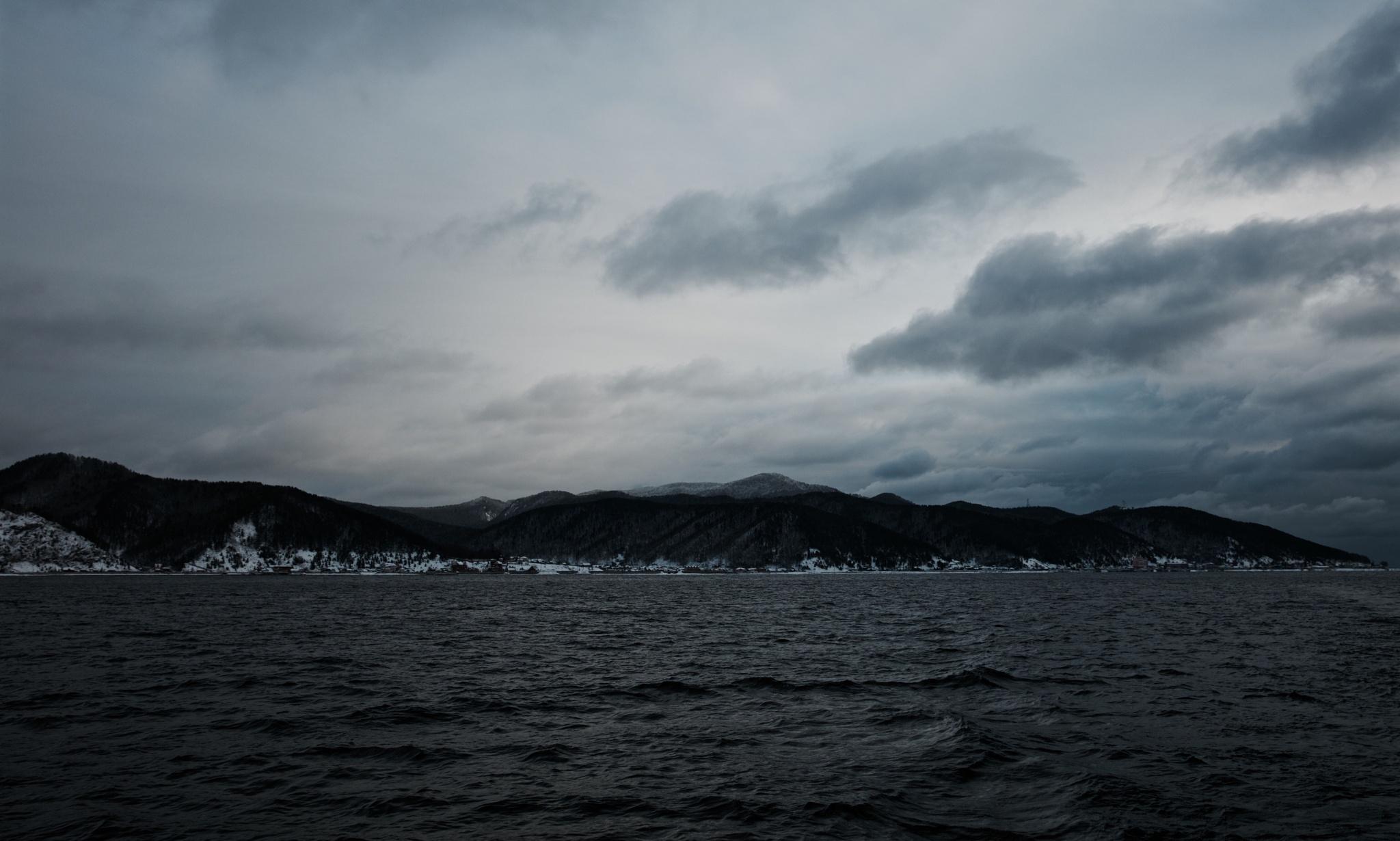 Baikal, Listvyanka by Boris Konovalov