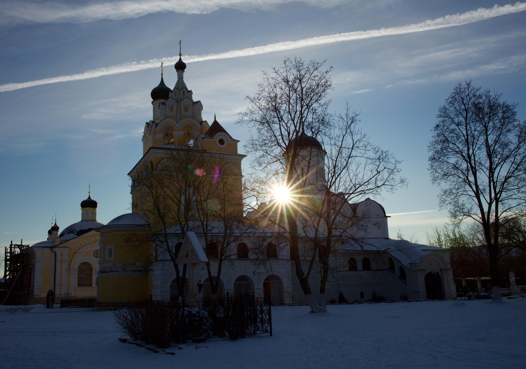 Kirzhach church by Boris Konovalov
