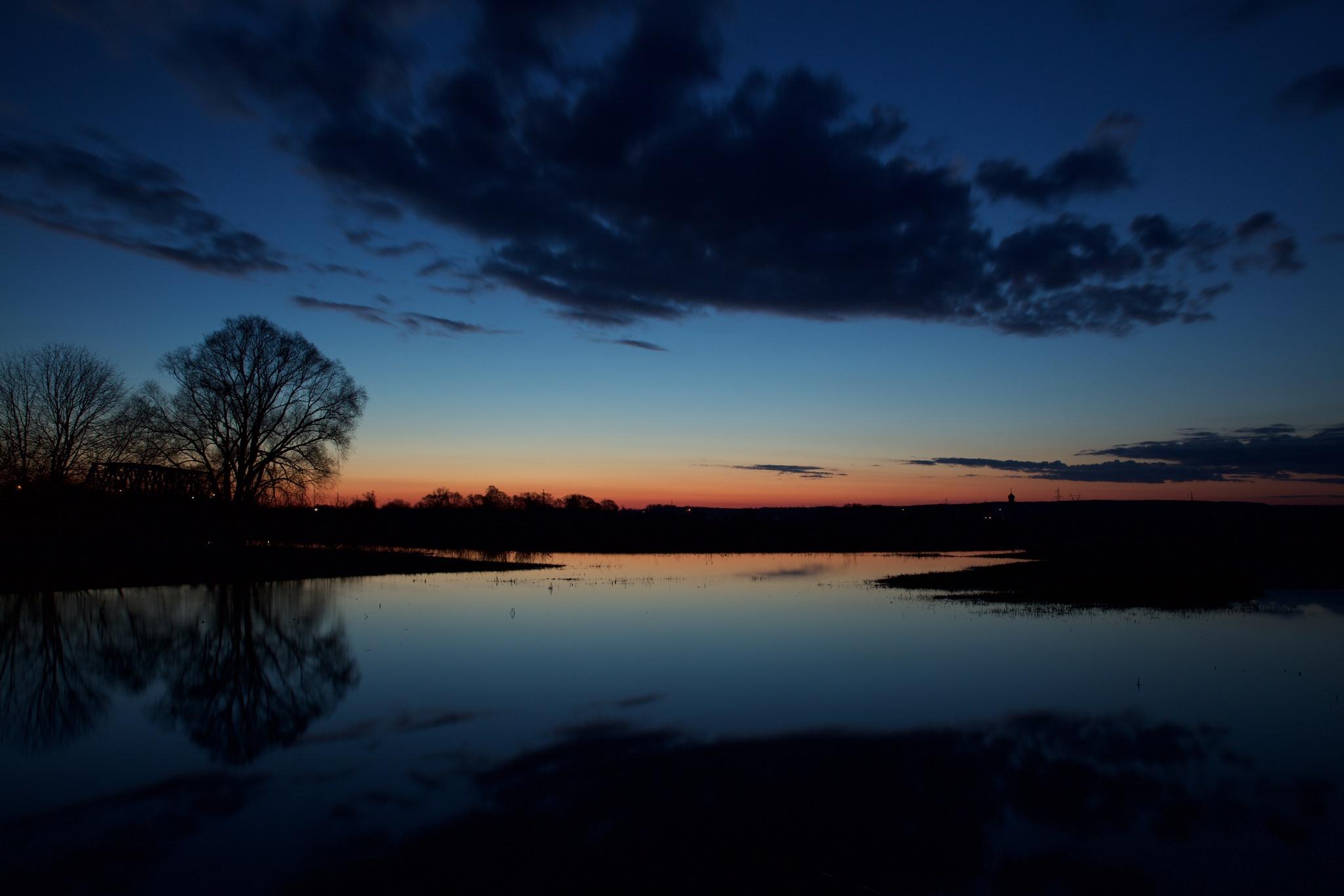 Sunrise Nerli by Boris Konovalov