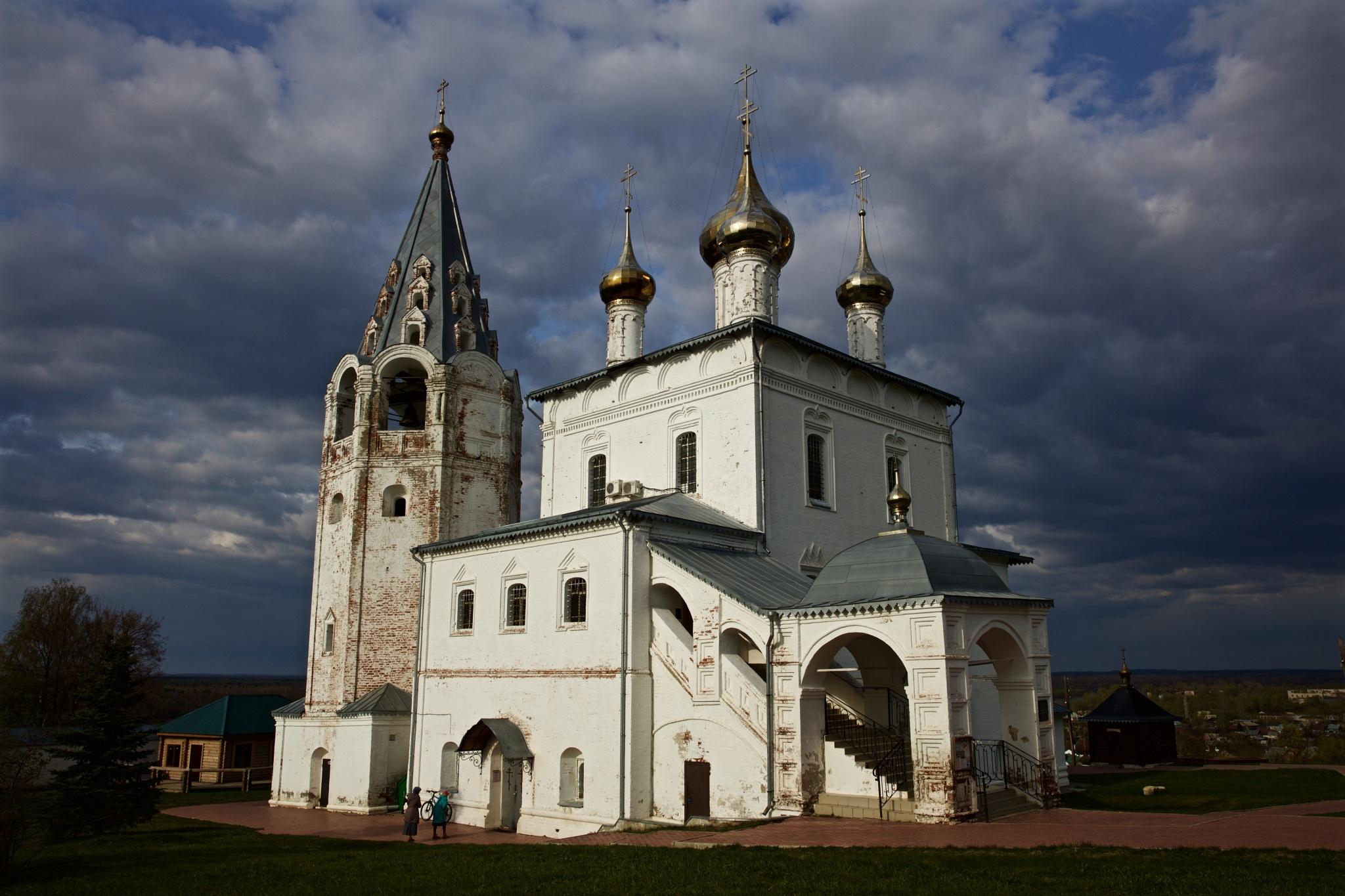 Svyato-Troitse Nikolsky Monastery by Boris Konovalov