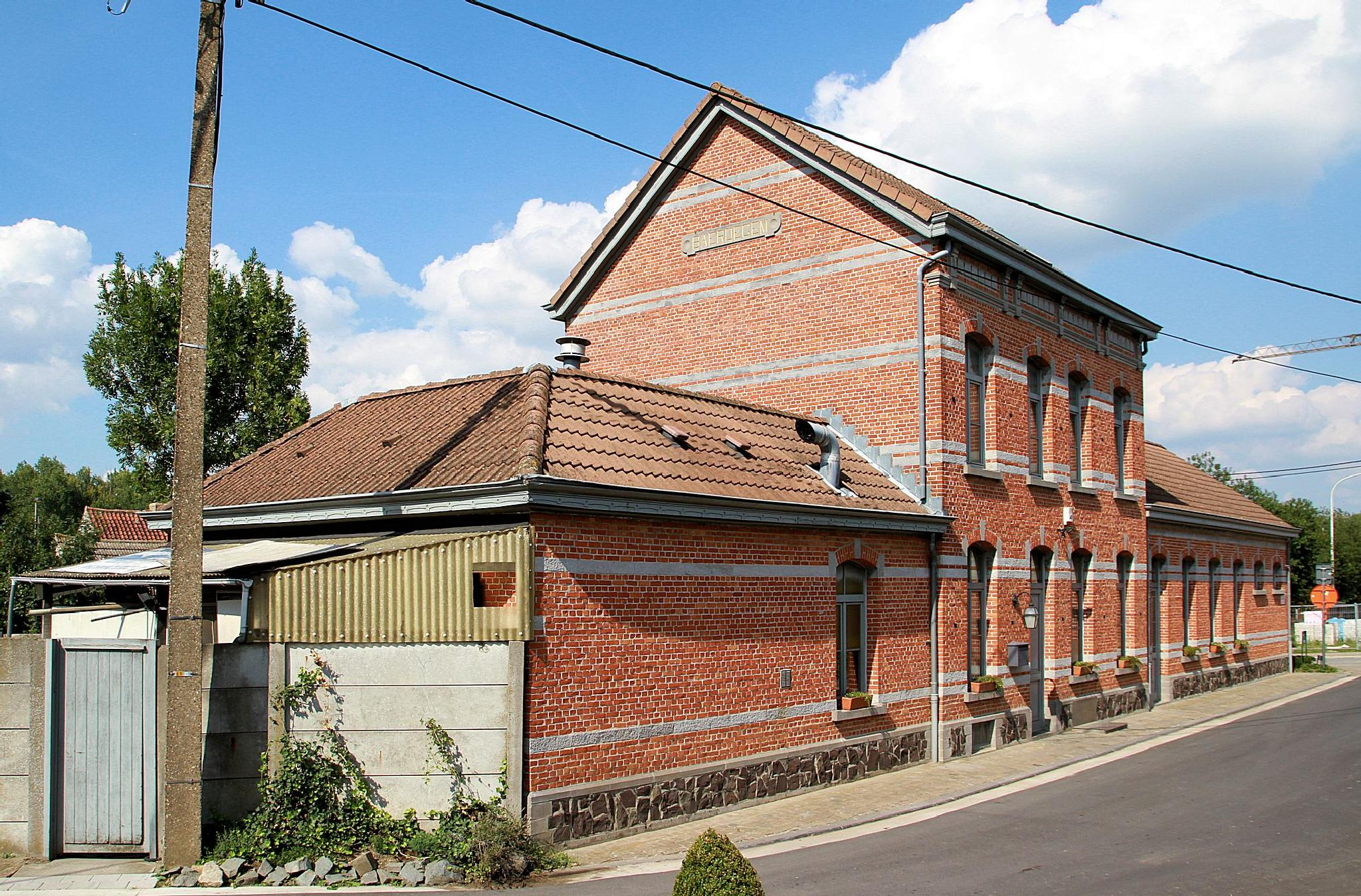 Baardegem, (BE), former trainstation by JPVD fotografie