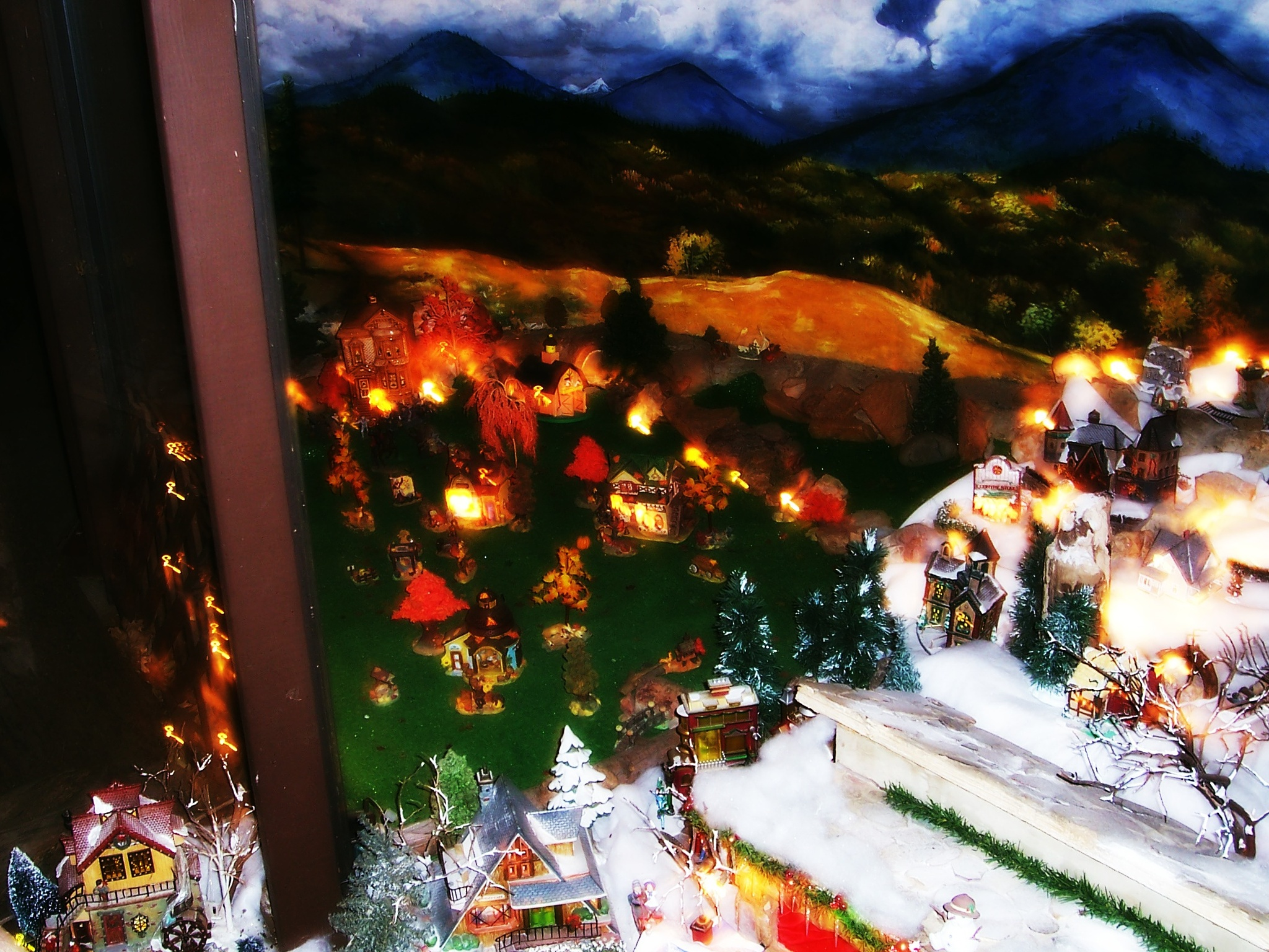 Autumn & Christmas Village by Jen Sulser