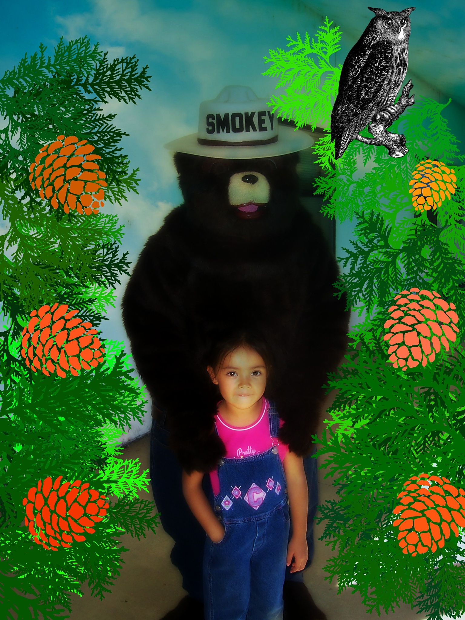 Hanging Out With Smokey..... by Jen Sulser
