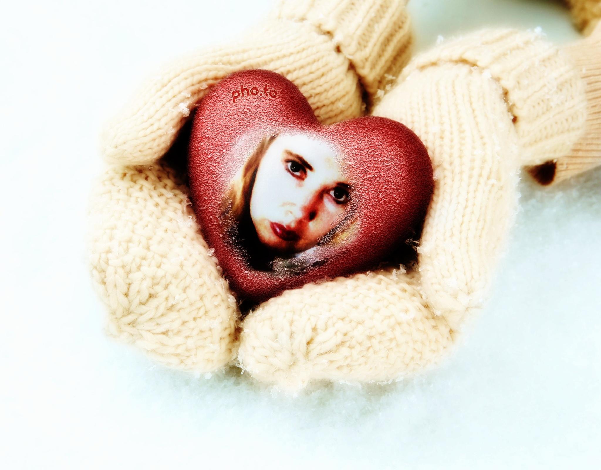 Warm Hearted Mittens by Jen Sulser